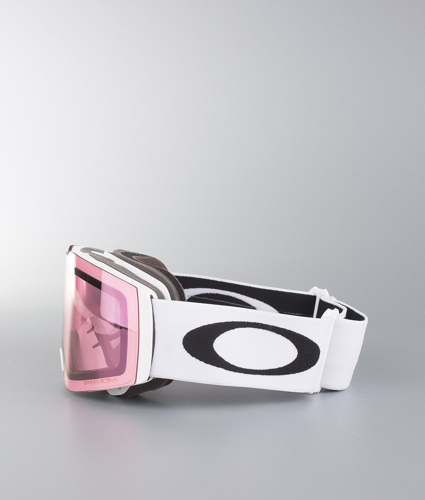 04bda82127 Oakley Fall Line Ski Goggle Matte White W Prizm Hi Pink - Ridestore.com
