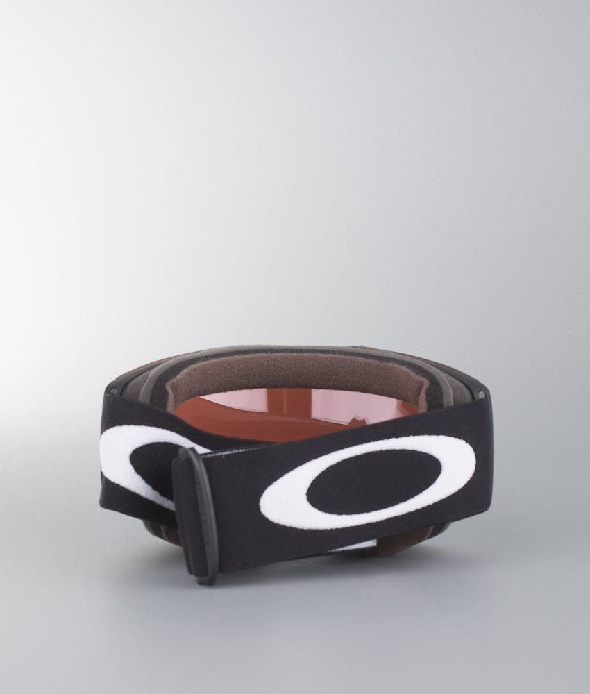 Oakley Fall Line Ski Goggle Matte Black W Prizm Sapphire M Y Bracelet Mtb 397