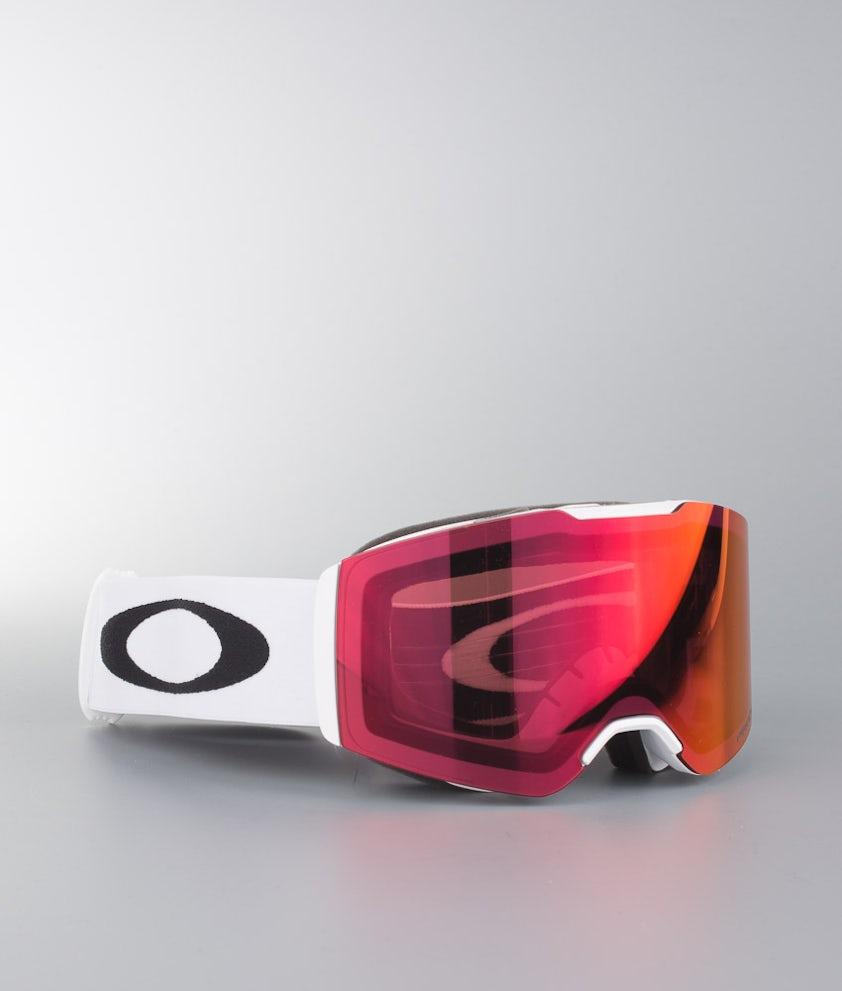 Oakley Fall Line Skibriller Matte White W/Prizm Torch