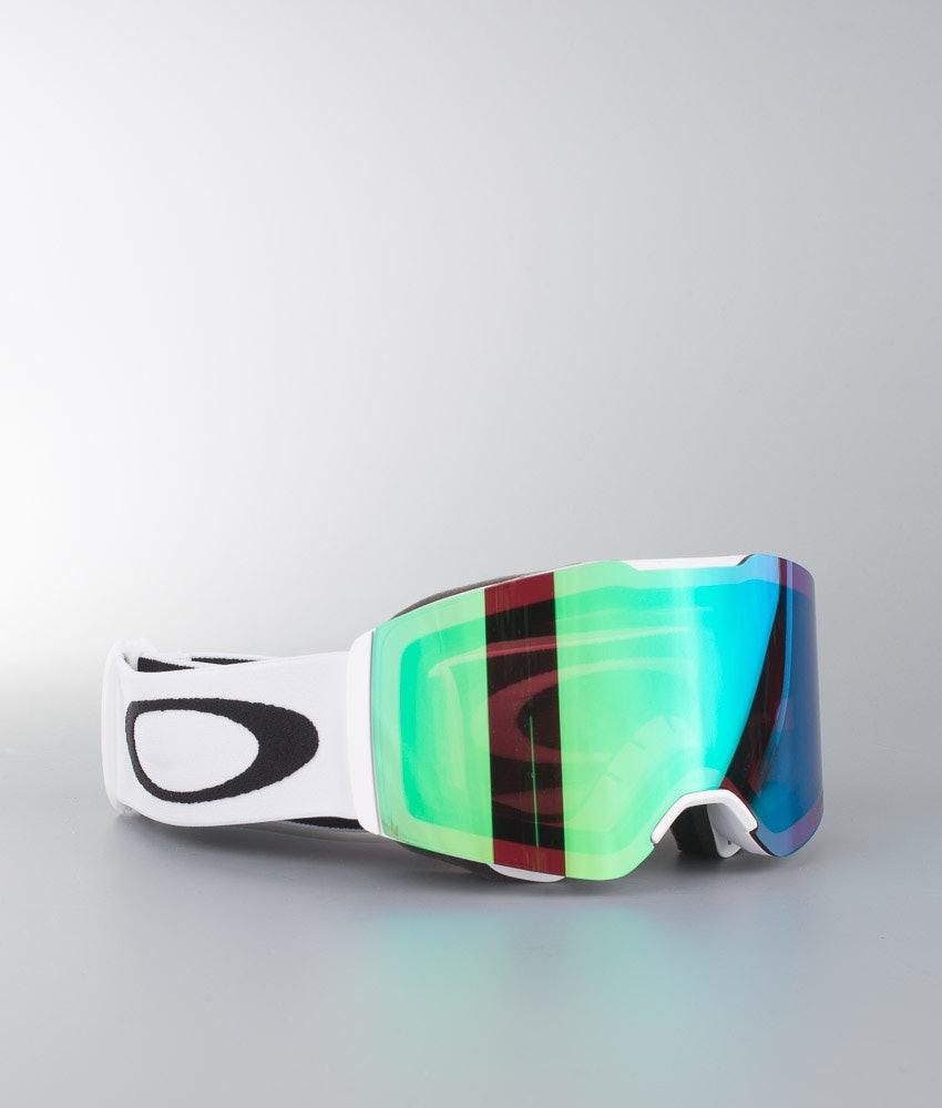 Oakley Fall Line Skidglasögon Matte White W/Prizm Jade