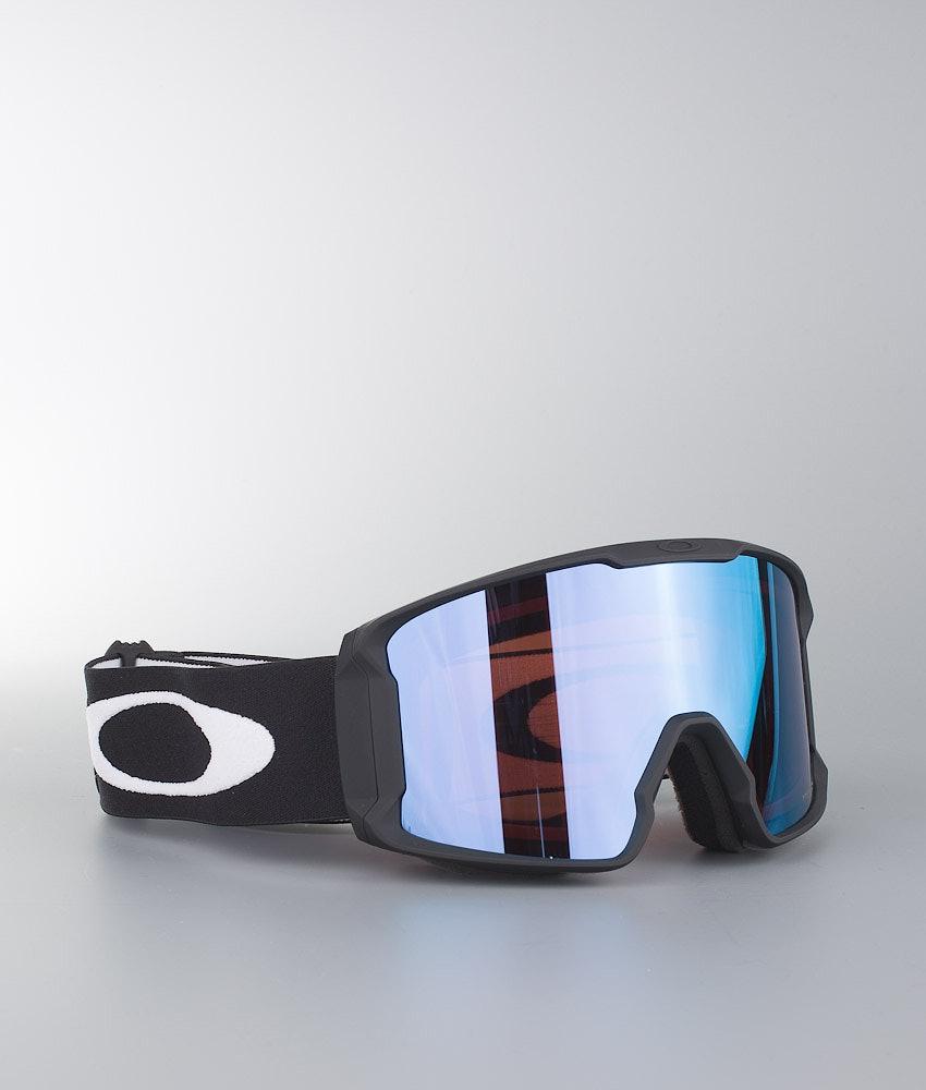 Oakley Line Miner XL Skidglasögon Matte Black With Prizm Sapphire Iridium Lens