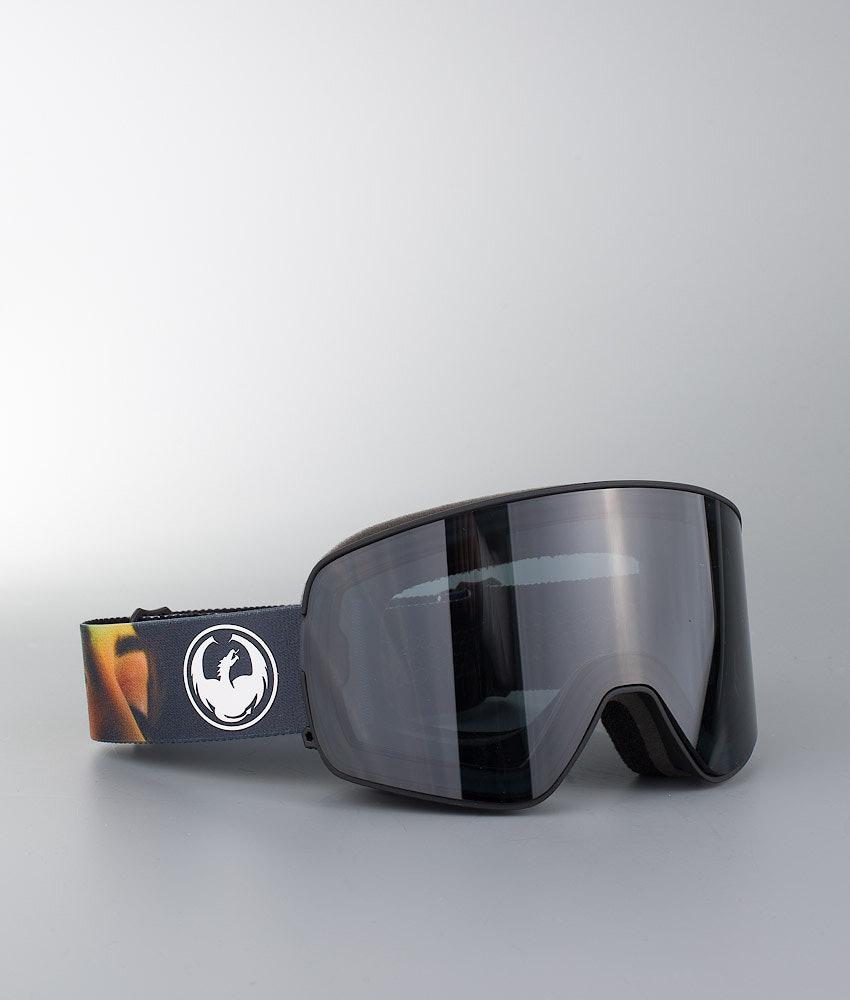 Dragon Nfx 2 Skibrille Blake Paul W/Dark Smoke + Flash Blue