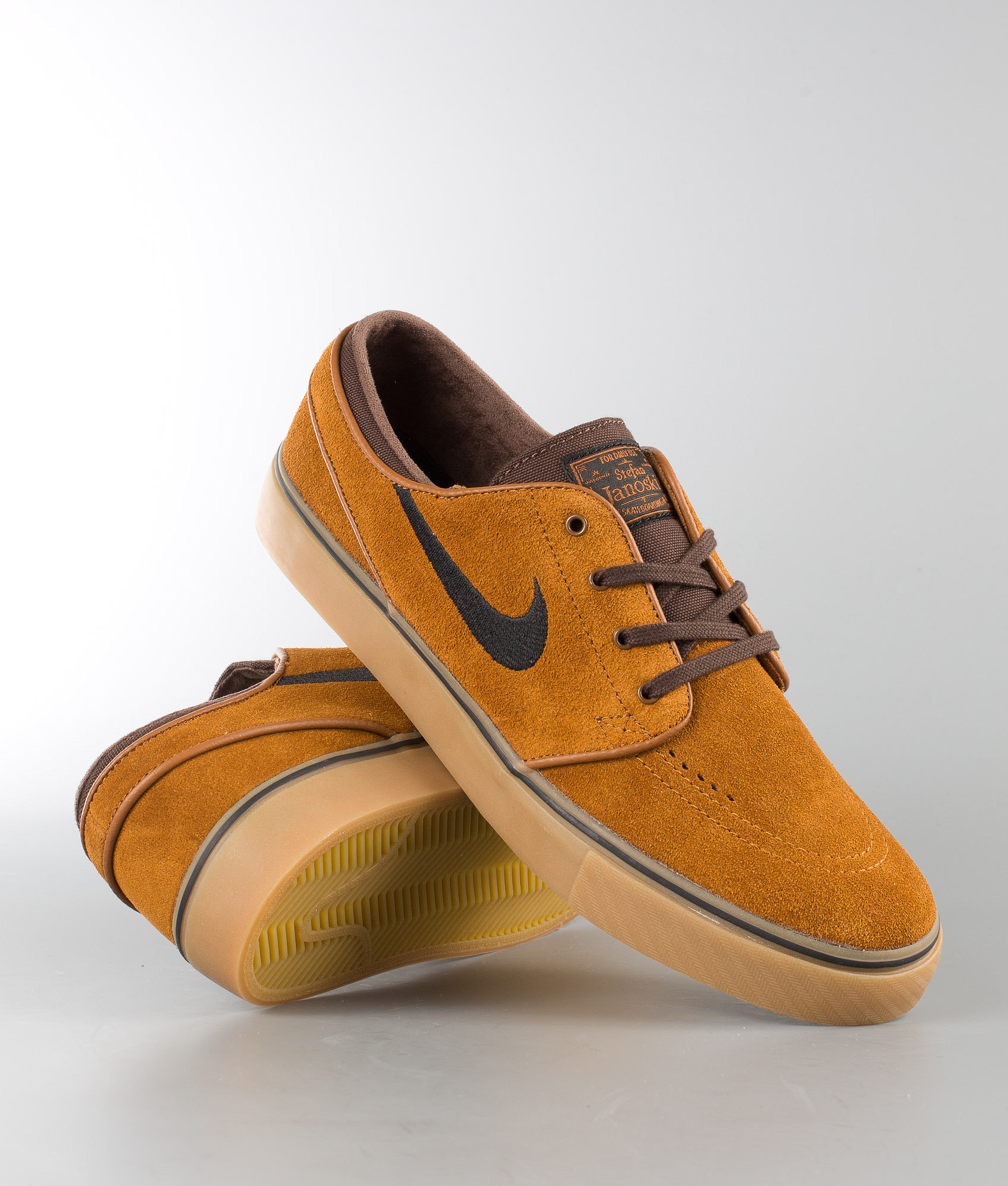 low priced b46af 759ce Nike Zoom Stefan Janoski Shoes Orange. Hazelnut Black-Baroque Brown
