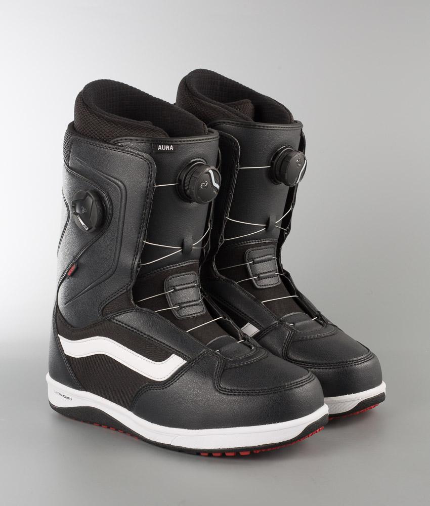 Vans Aura Boots BlackWhiteRed 17 Ridestore.no
