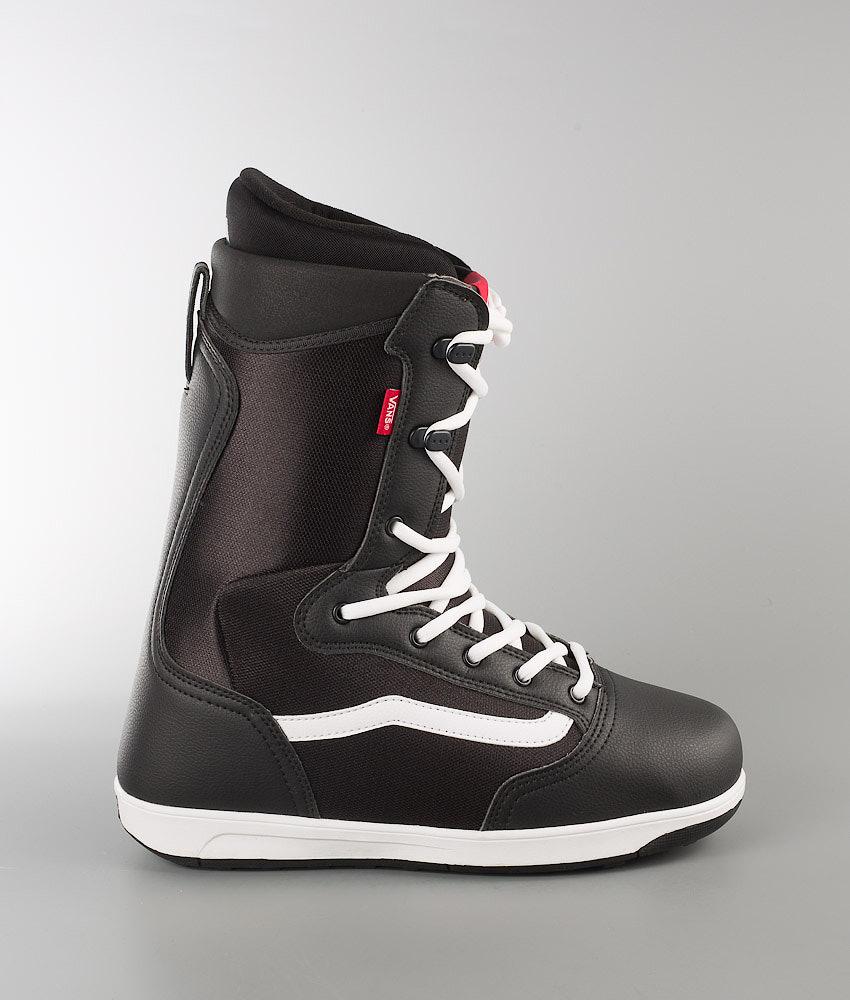 8b74995463 Vans Mantra Snowboard Boots Black White Red 17 - Ridestore.com
