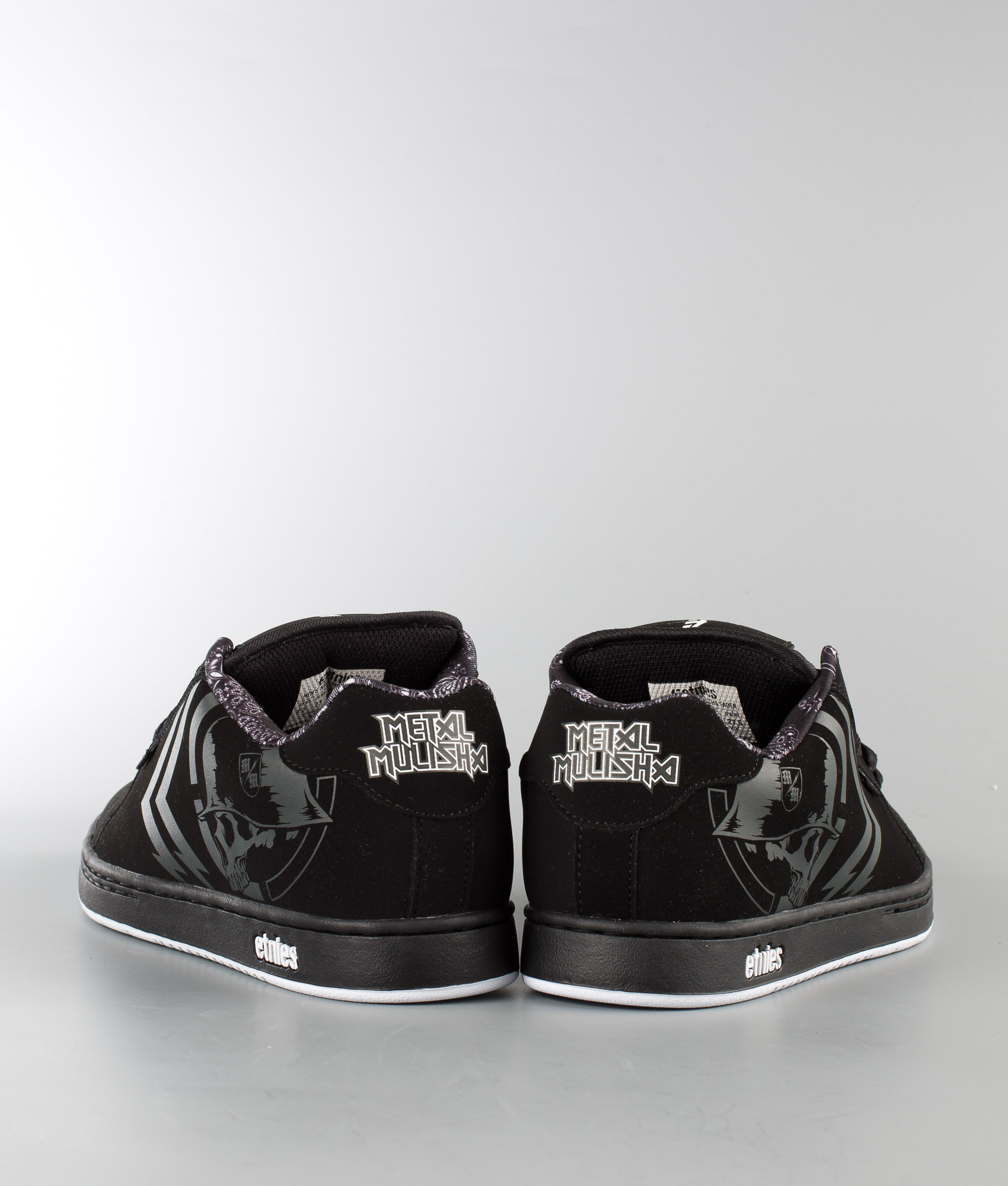 Chez Etnies Chaussures Blackwhite Metal Mulisha De Fader OxvzBqF