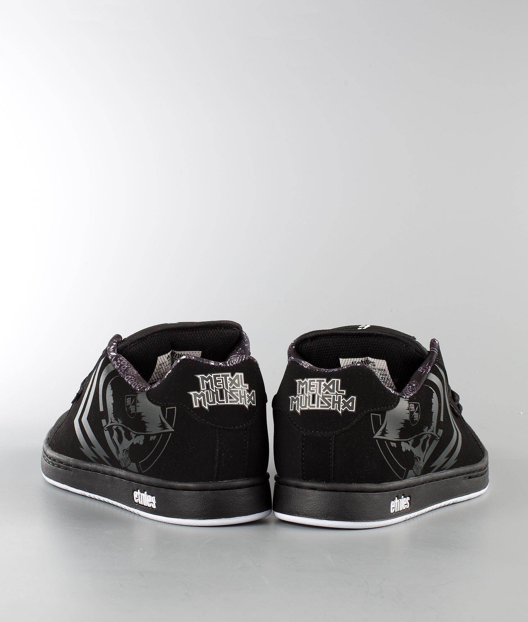7e2067d250cb Etnies Metal Mulisha Fader Scarpe Black/White - Ridestore.it