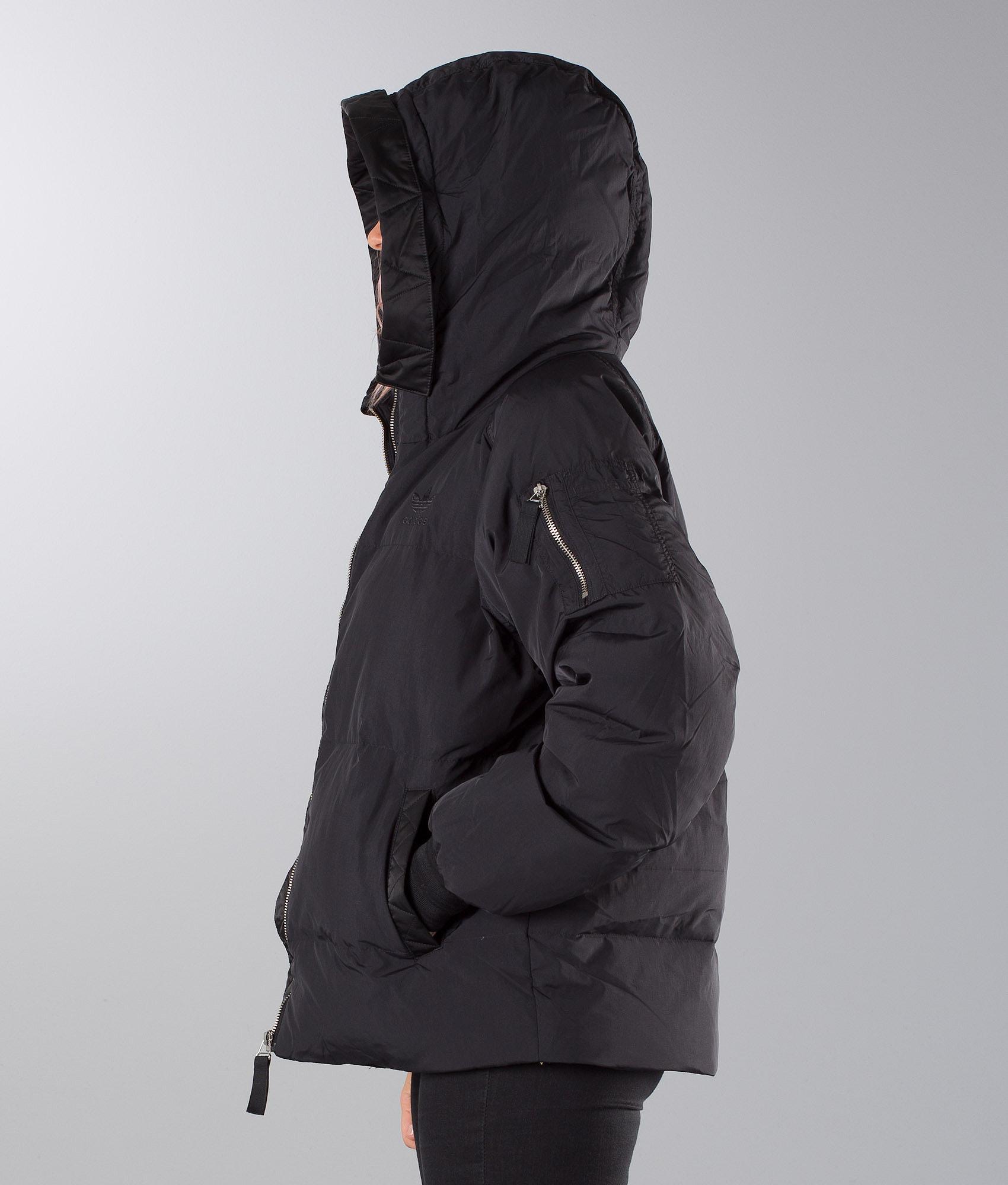 d6fd720e6f Adidas Originals Short Bomber Jacket Black