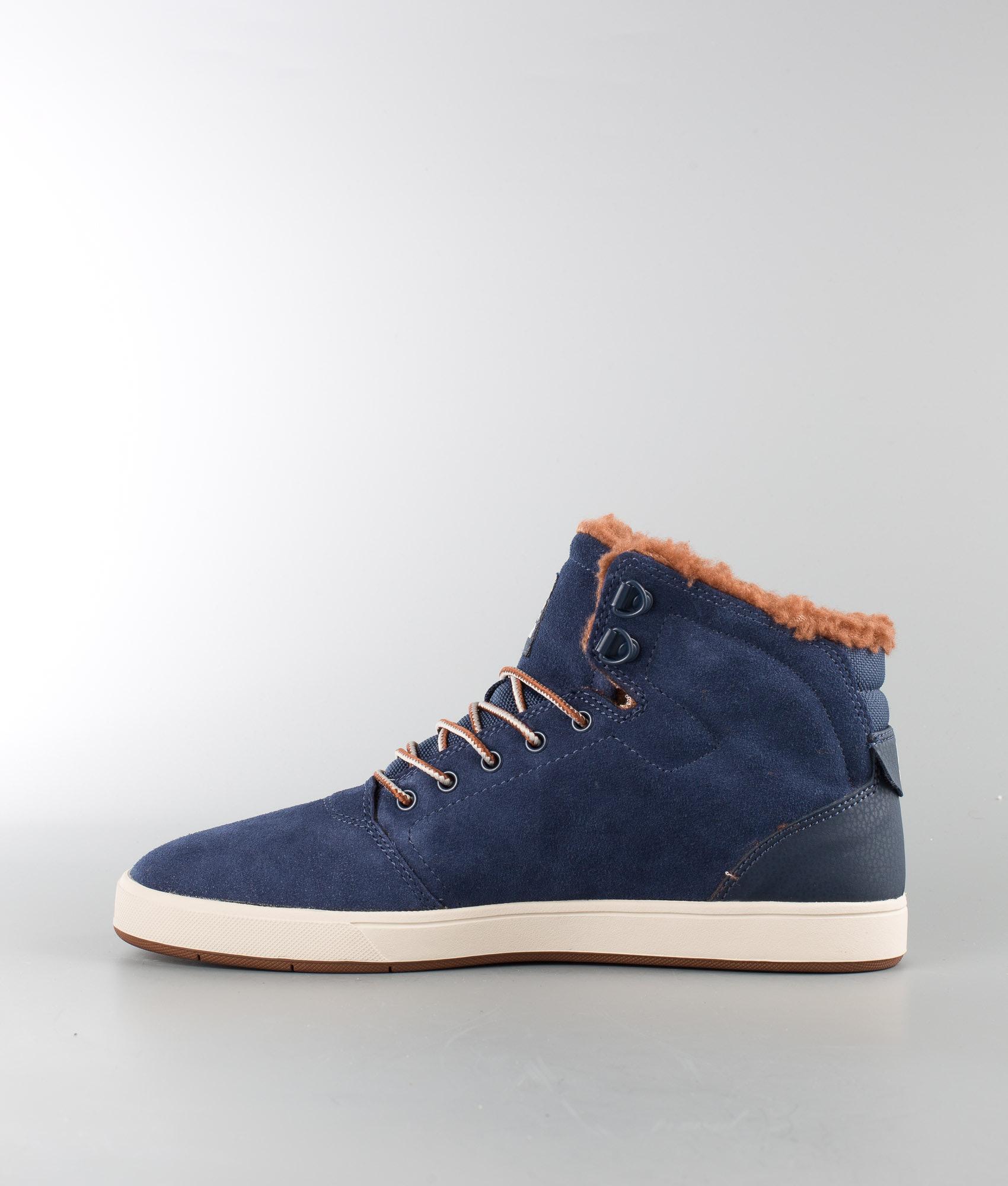71f4e0d21e DC Crisis High Wnt Shoes Navy Camel - Ridestore.com