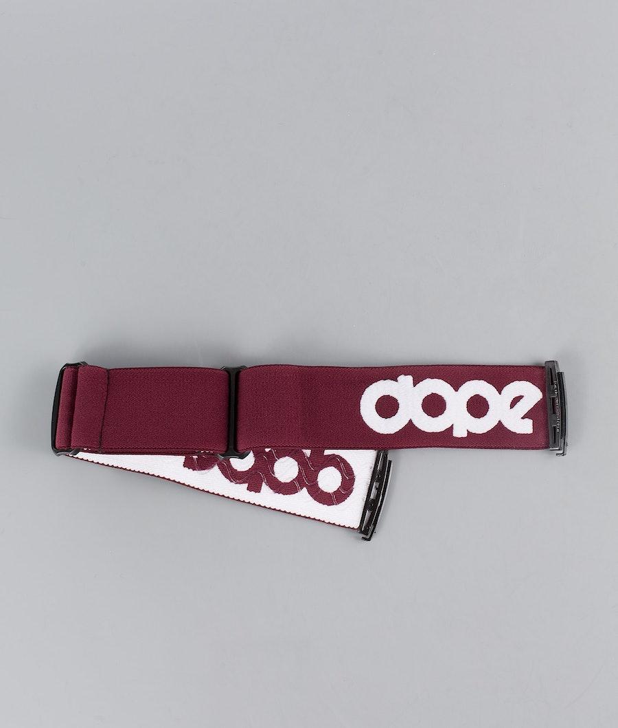 Dope OG Logo Snow Other Burgundy White