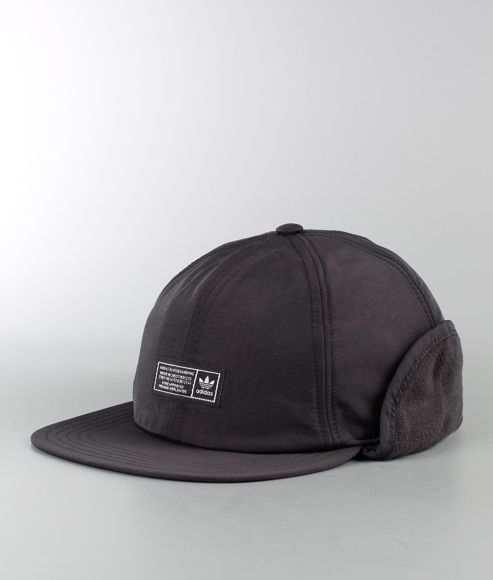 Adidas Skateboarding Winter Cap Cap Black - Ridestore.com 2ca7274af32