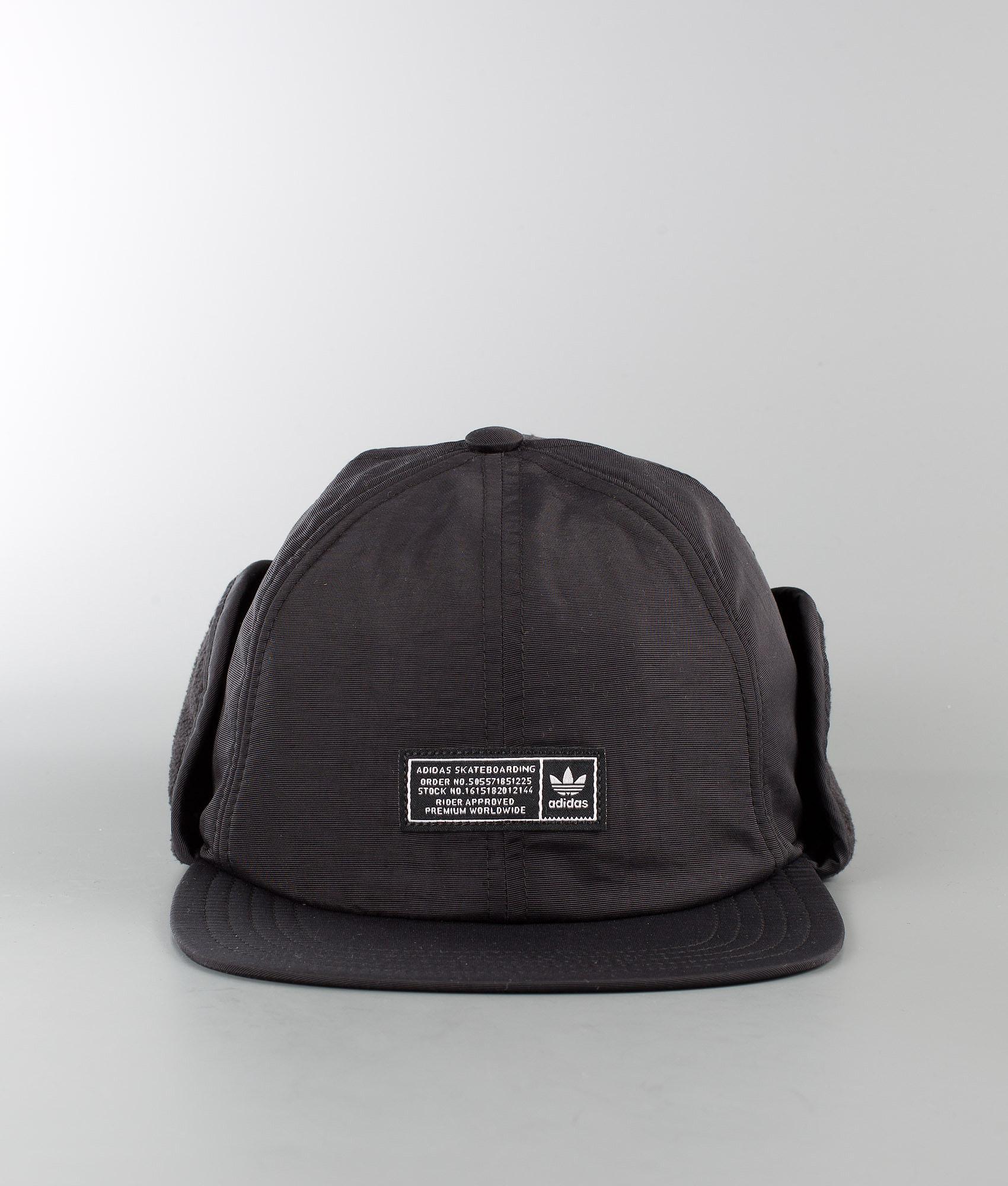 8b699f5af0c9f8 Adidas Skateboarding Winter Cap Caps Black - Ridestore.no