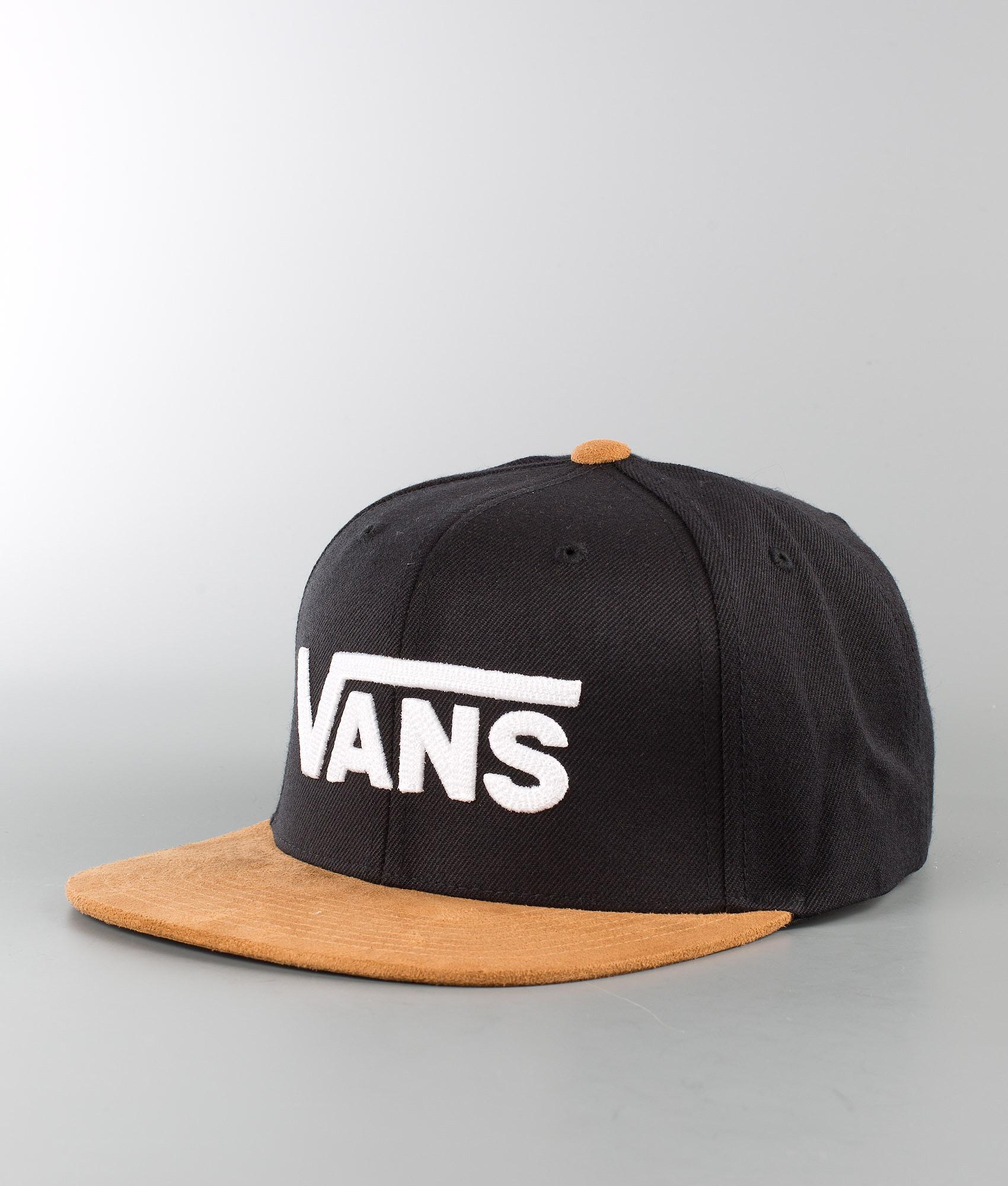 Vans Drop V II Cappello Black-Khaki - Ridestore.it 7edfd7ec7094