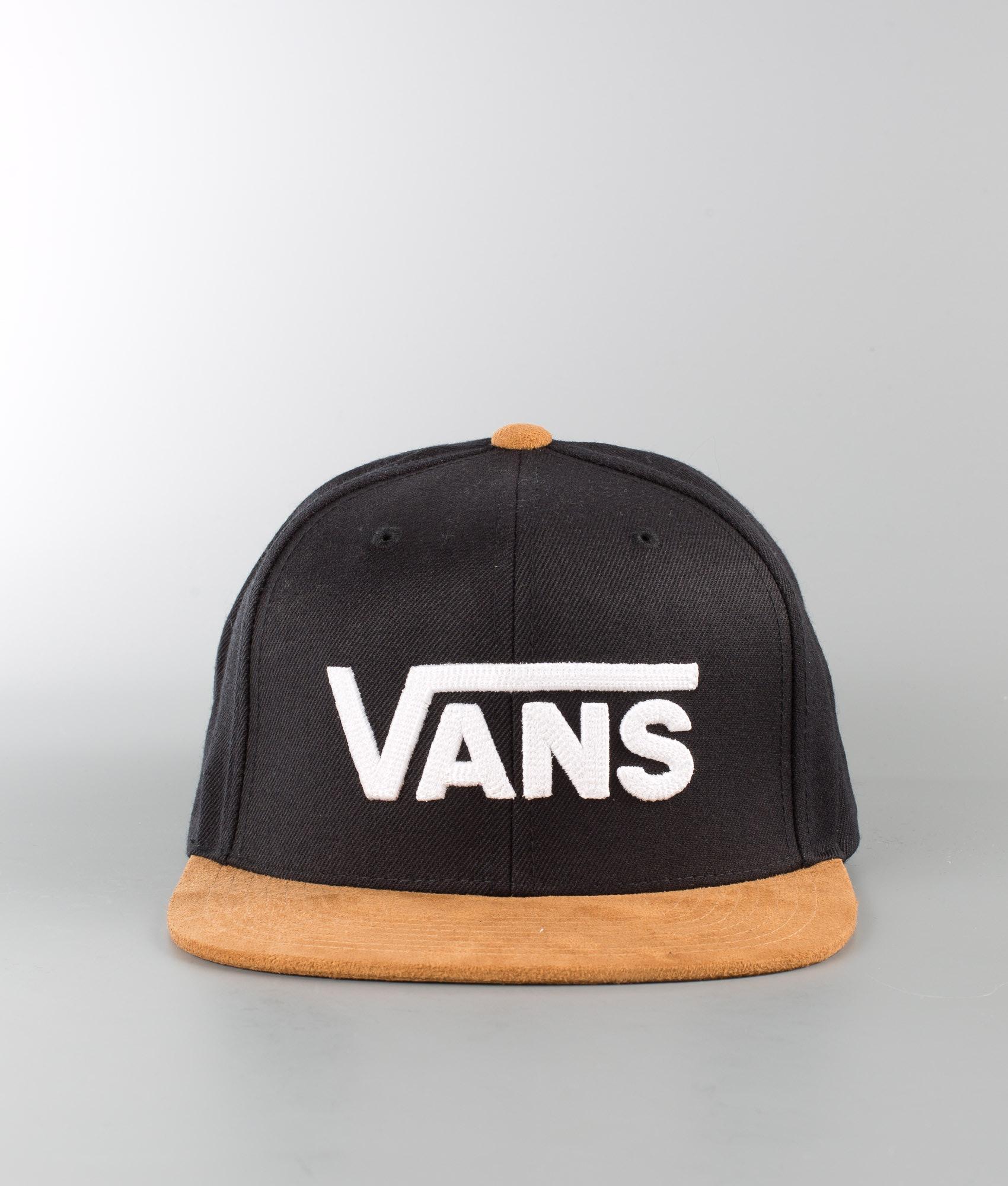 a6255ddf243cd1 Vans Drop V II Cap Black-Khaki - Ridestore.com