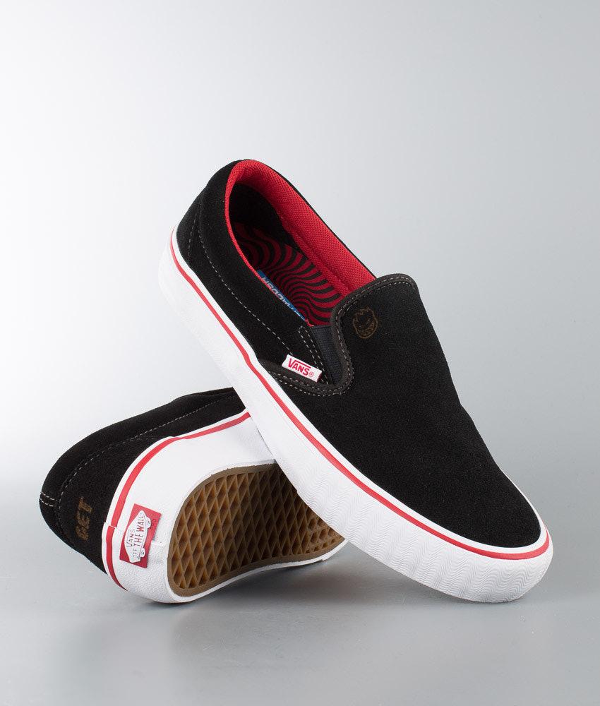 ce44c2a833f Vans Slip-On Pro Shoes (Spitfire) Van Der Linden Black - Ridestore.com