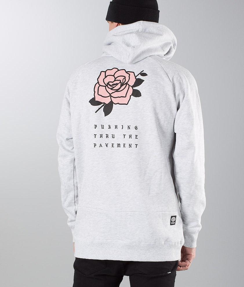 Dope ROSE Hoodie Greymelange