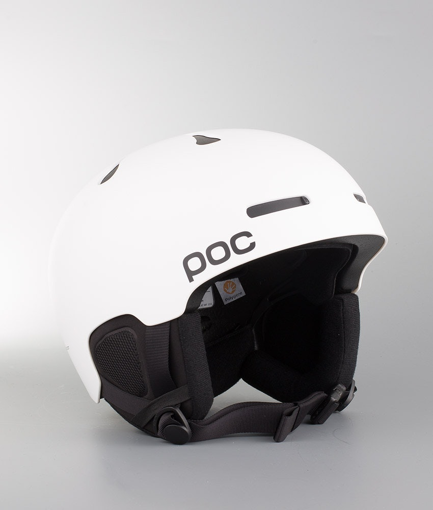 Poc Auric Cut Casco Snow Matt White