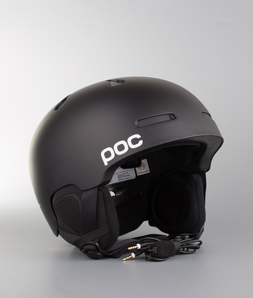 Poc Auric Cut Communication Skidhjälm Matt Black