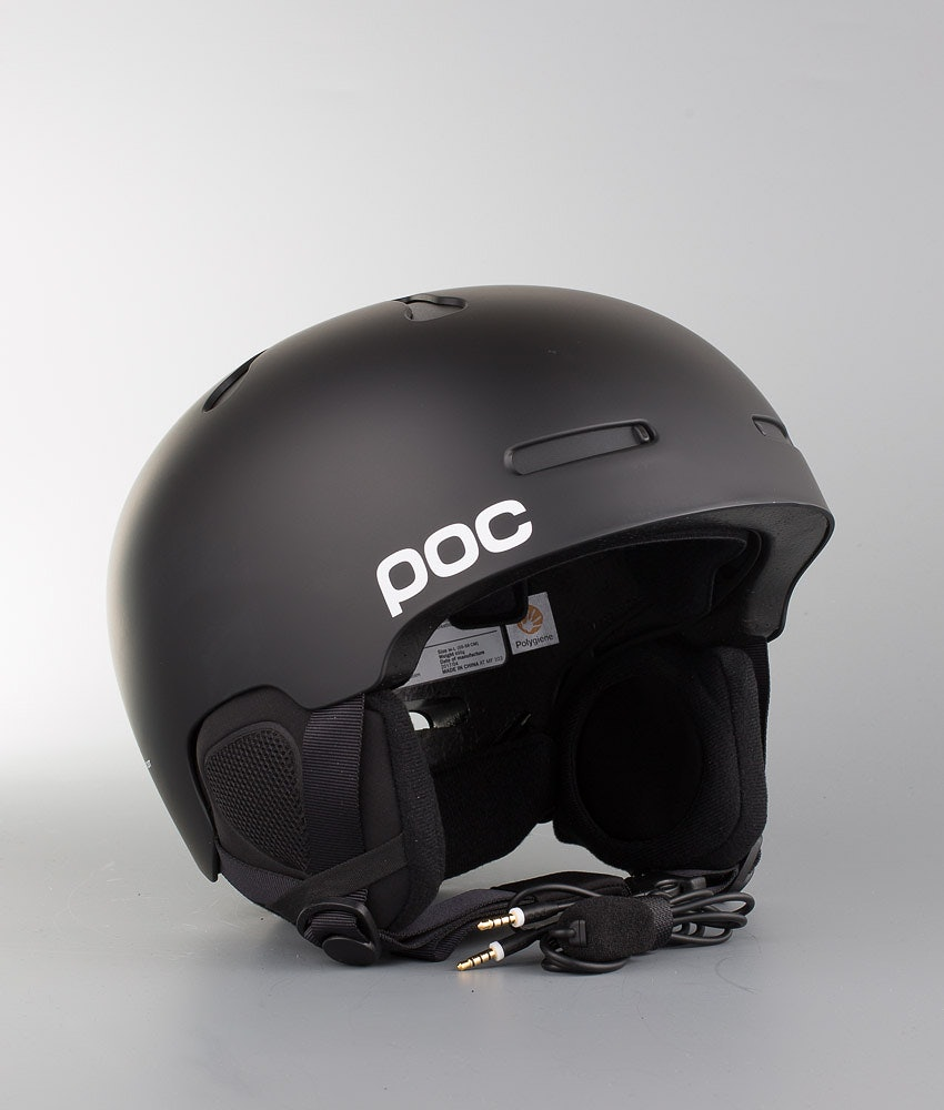Poc Auric Cut Communication Ski Helmet Matt Black