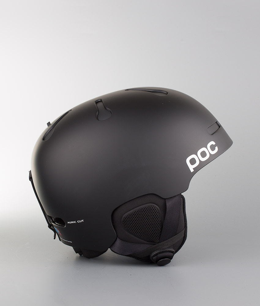 Poc Auric Cut Communication Casco Snow Matt Black