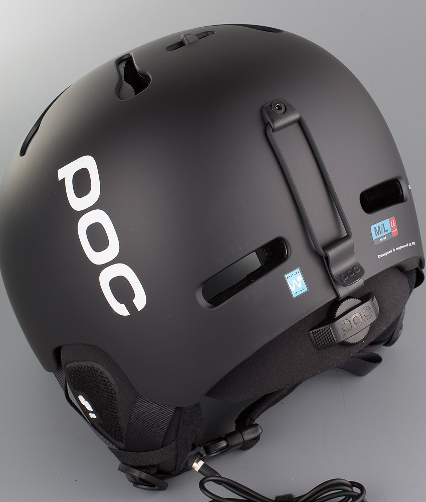 Poc Auric Cut Communication Skihjelm Matt Black