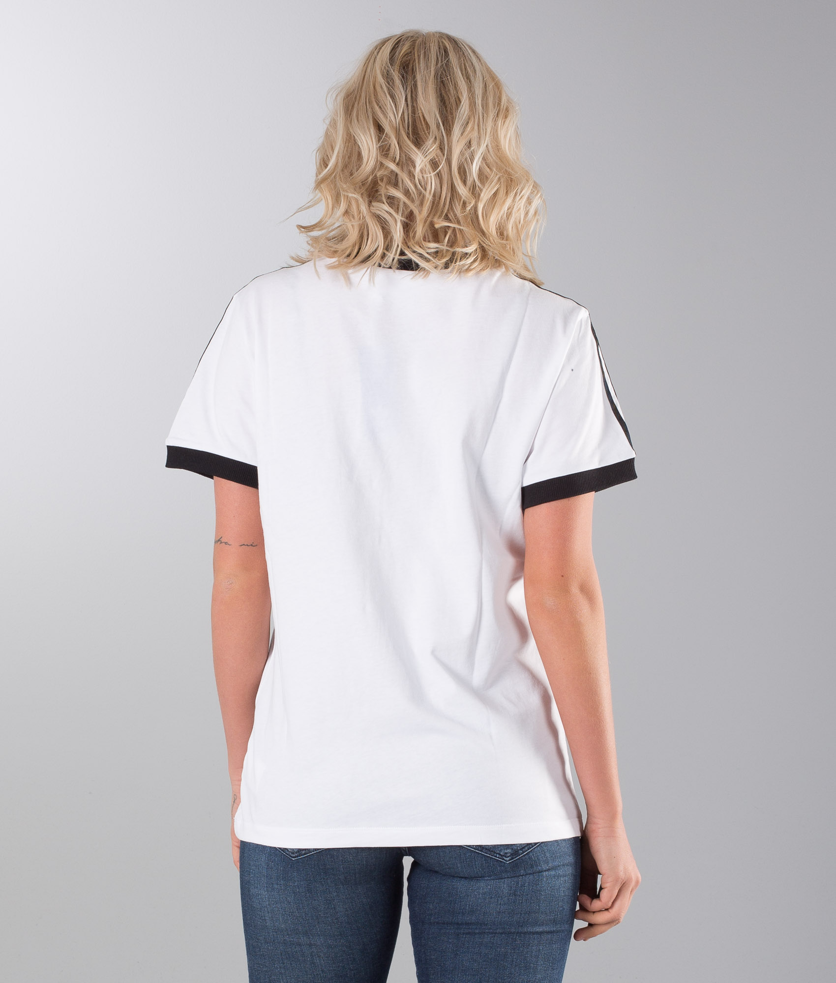 Adidas Originals 3 Stripes T Shirt WhiteBlack