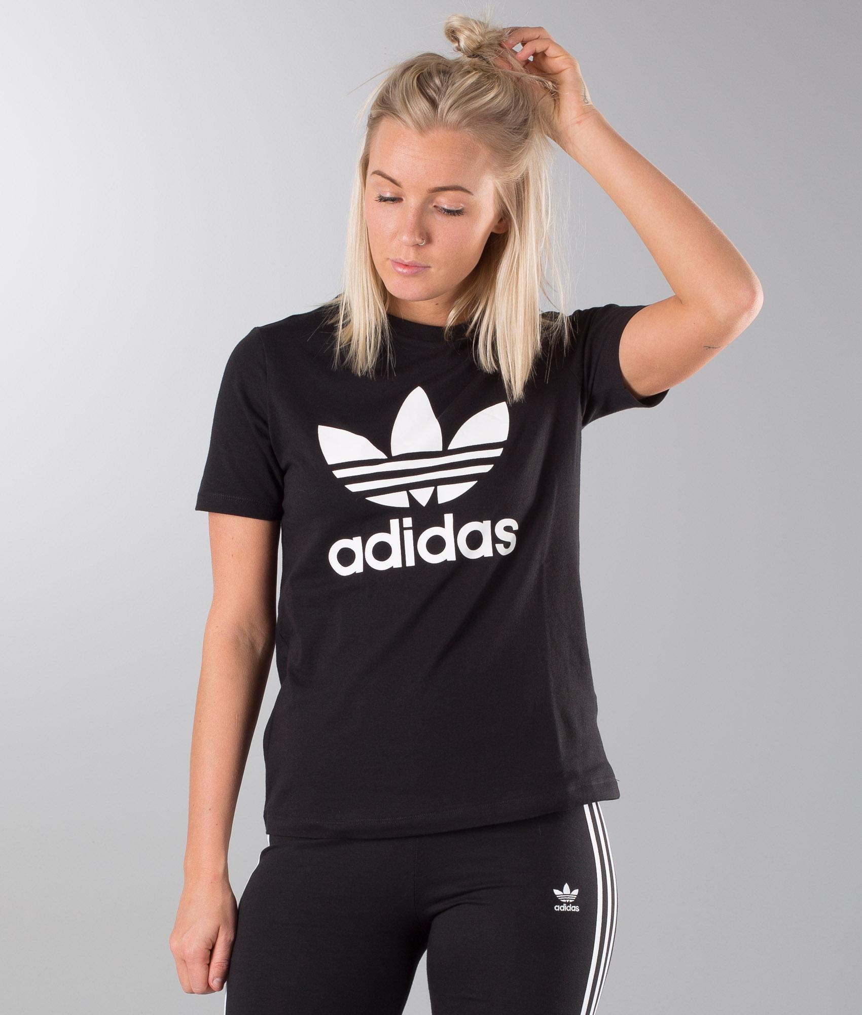 Trefoil Blackwhite Originals T Adidas Shirt 53jL4qAR