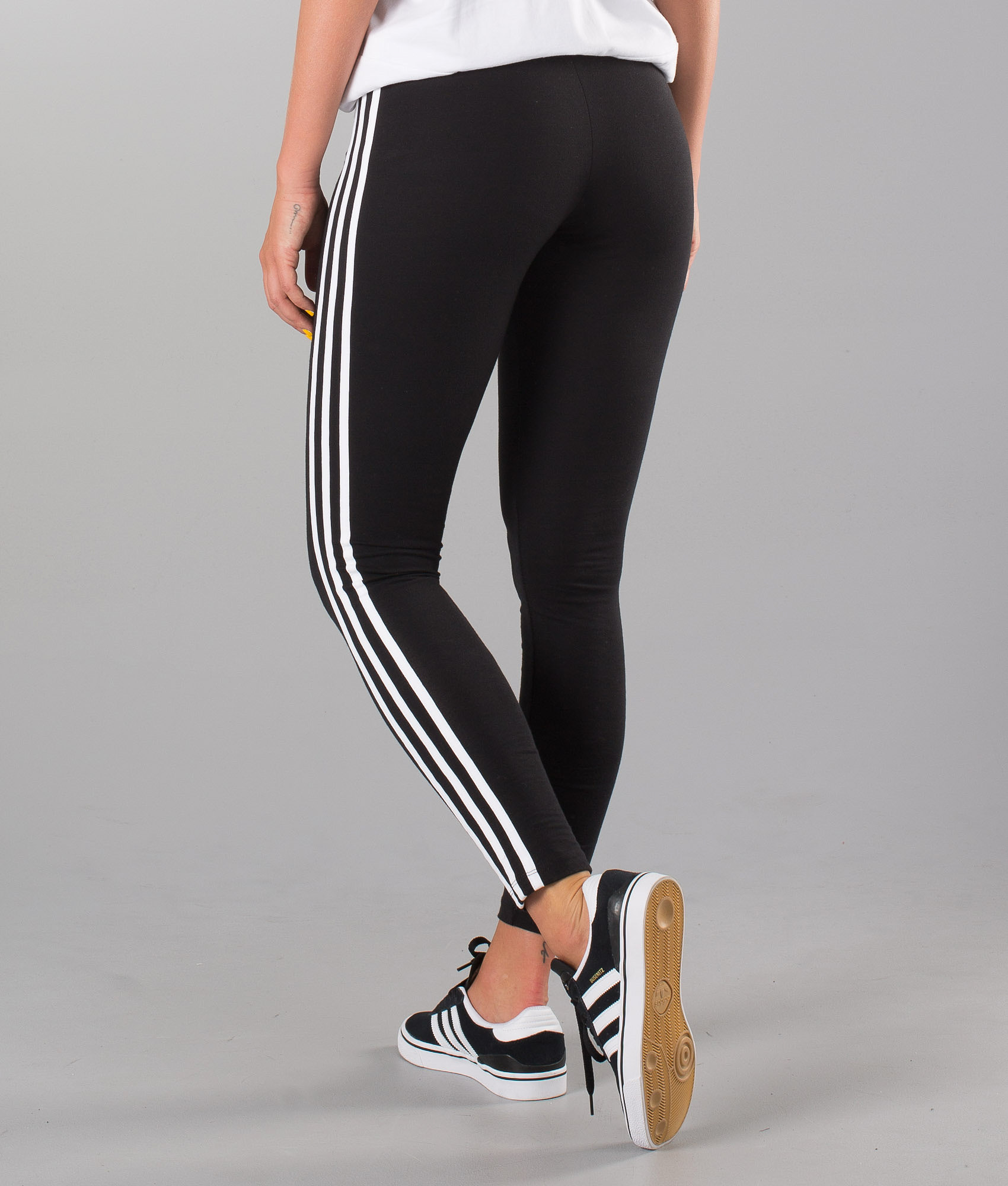 d9aeca4091e4 Adidas Originals 3-Stripes Leggings Black - Ridestore.com