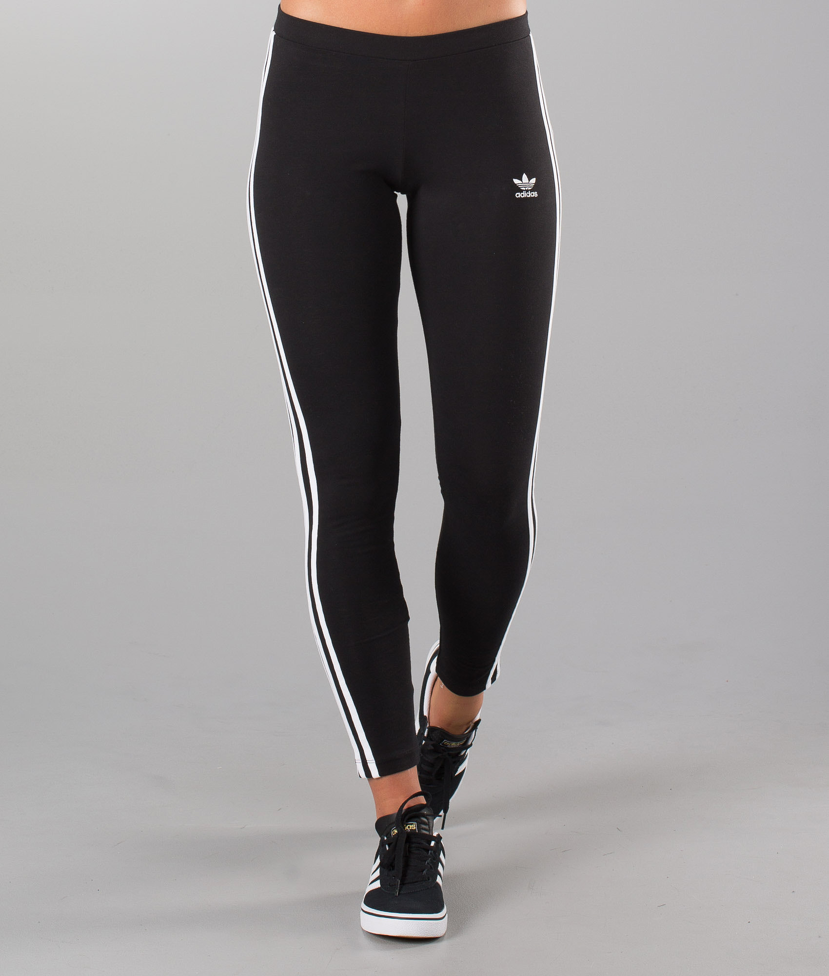 7f47058b0 Adidas Originals 3 Stripes Leggings Black - Ridestore.com