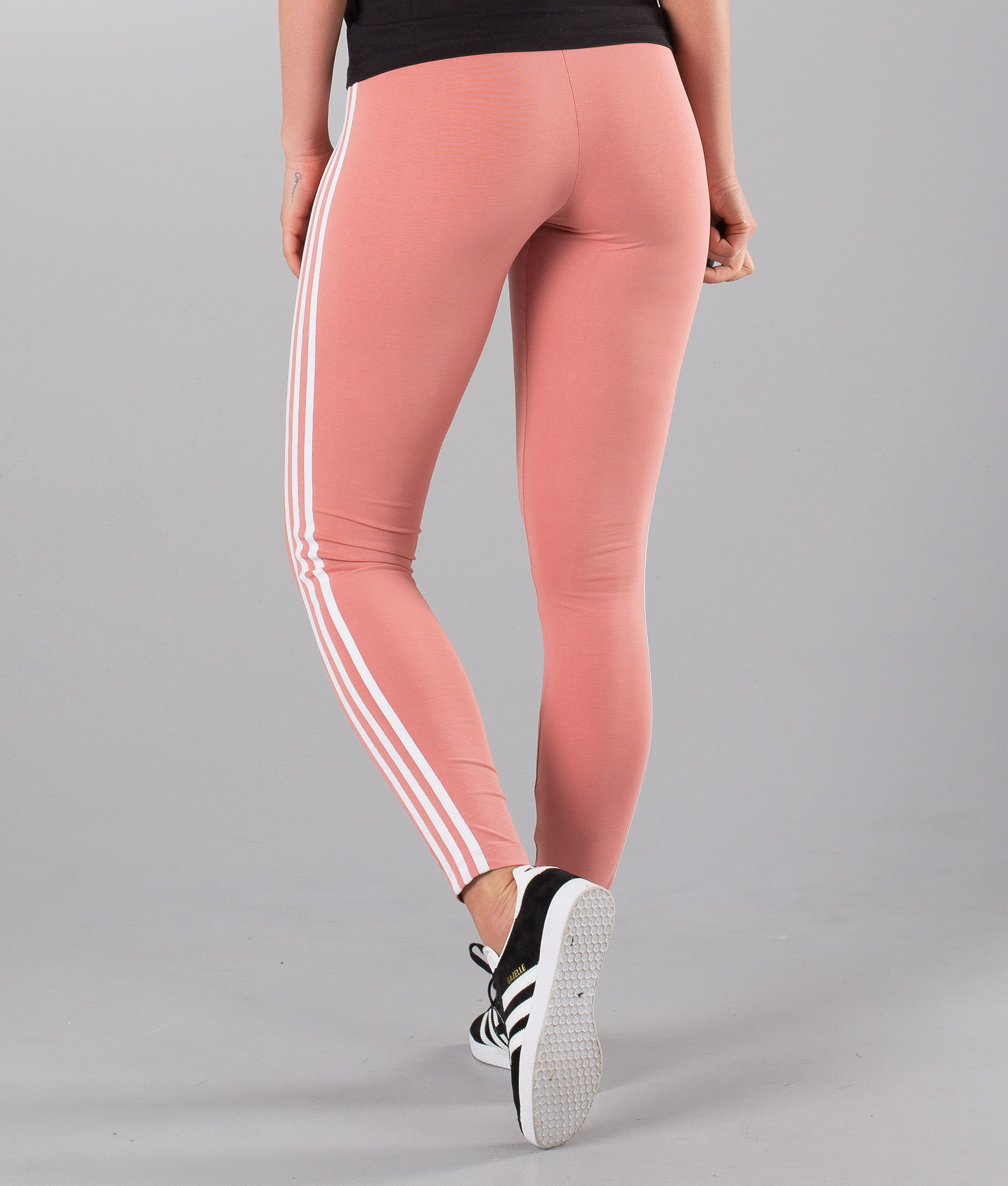 0fb66a14b15 Adidas Originals 3 Stripes Leggings Ash Pink - Ridestore.de