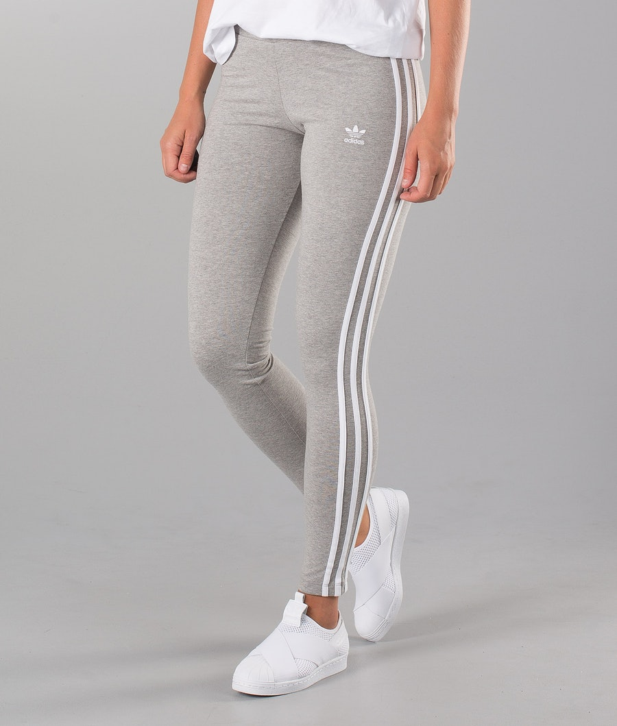 Adidas Originals 3 Stripes  Leggingsit Medium Grey Heather