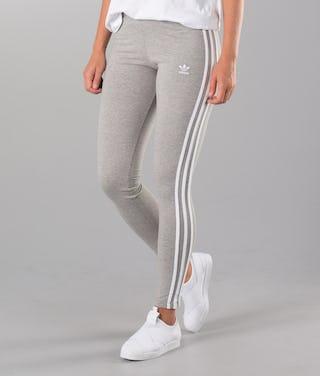 consultor lo hizo profundo  Adidas Originals 3 Stripes Leggings Medium Grey Heather ...