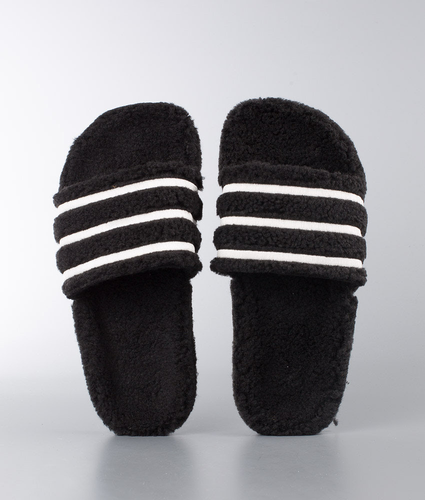 2c4333f5 Adidas Originals Adilette Sandal Core Black/Chalk White/Core Black ...