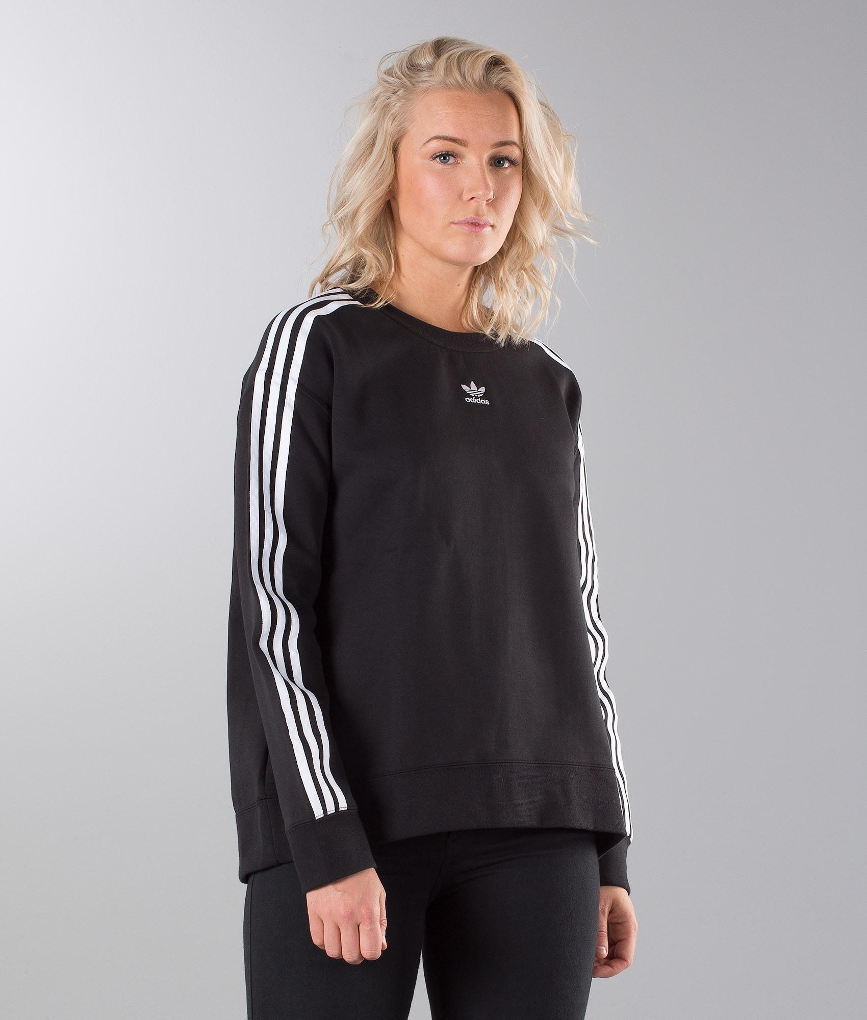 20c6a0b4a446b0 Adidas Originals Crew Sweater Black - Ridestore.com