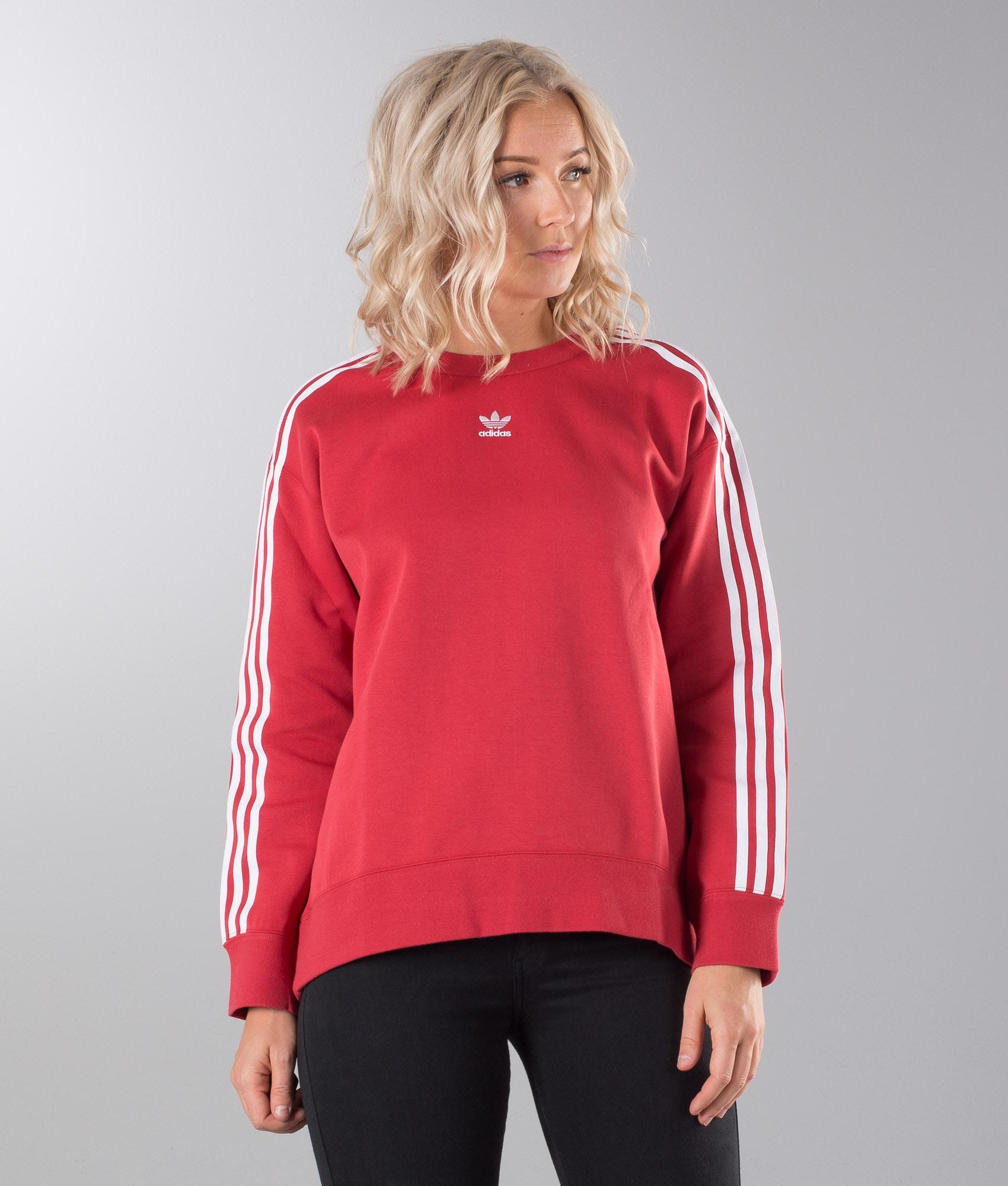 02cc97fe Adidas Originals Crew Sweater Raw Red - Ridestore.com
