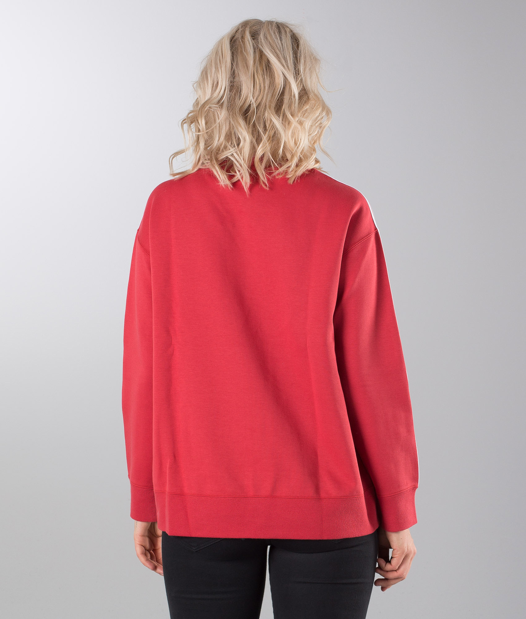 3154ccfefc60 Adidas Originals Crew Sweater Raw Red - Ridestore.com