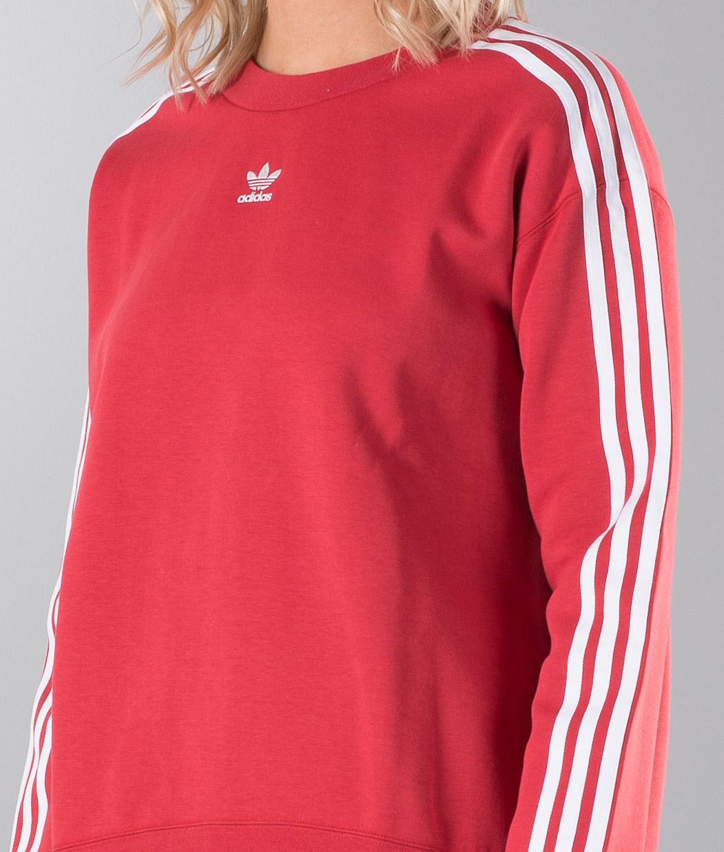 Sweater Red Crew Adidas Originals Raw nOPk0w