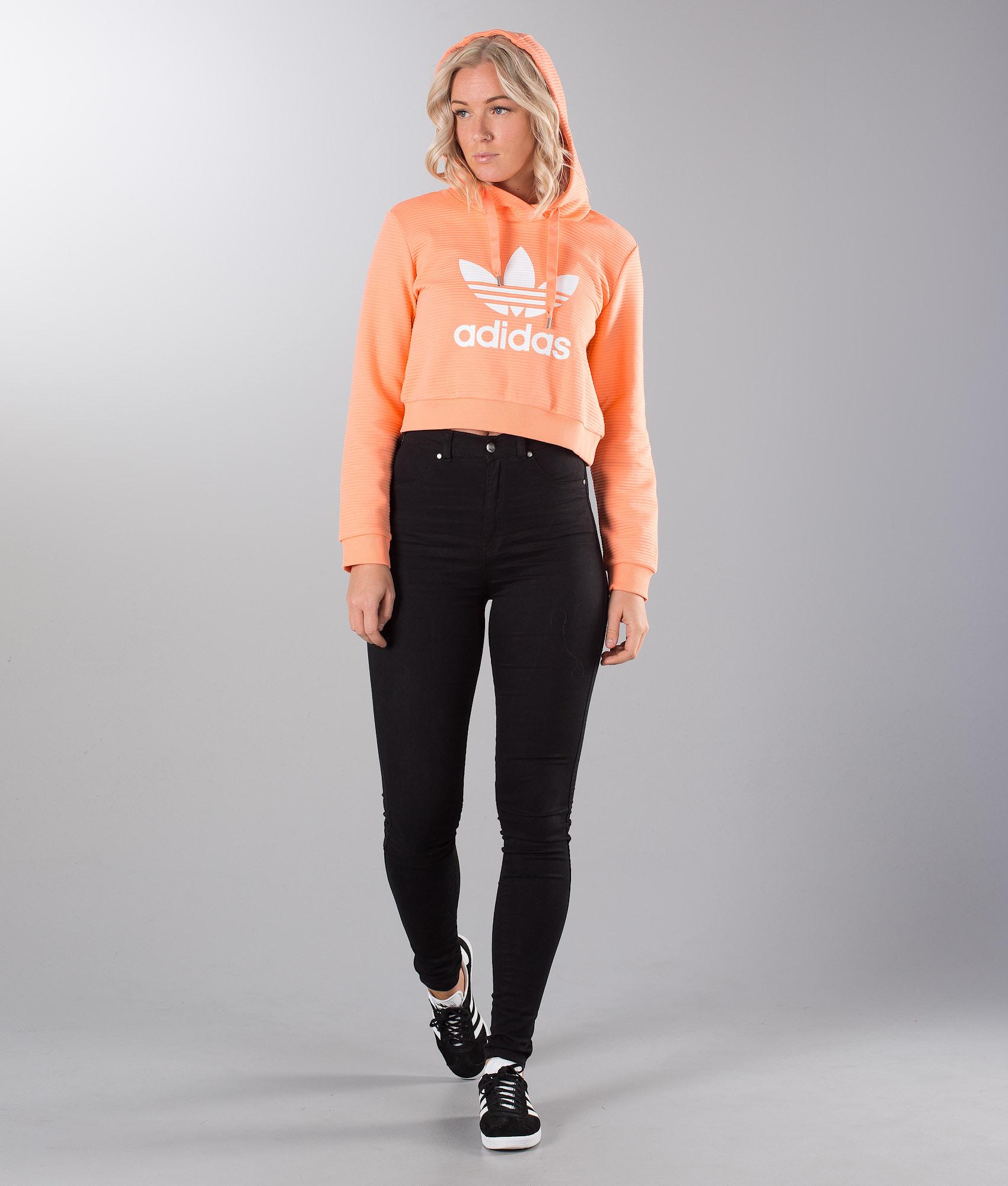 Adidas Originals Trefoil Hood Chalk Coral - Ridestore.se acdc59e256b49