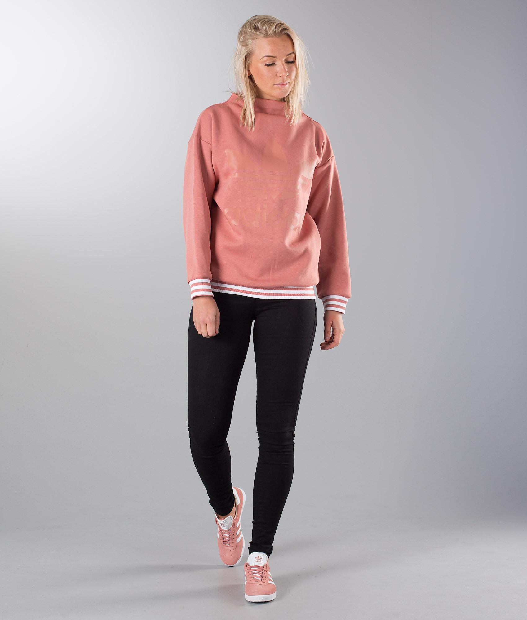 bb51dae051c23f Adidas Originals Sweatshirt Sweater Ash Pink - Ridestore.com