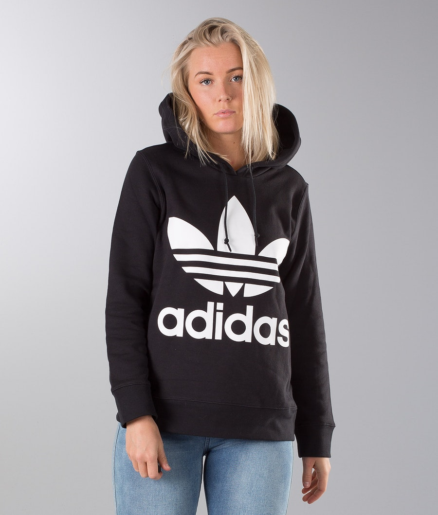 Adidas Originals Trefoil  Capuche Black