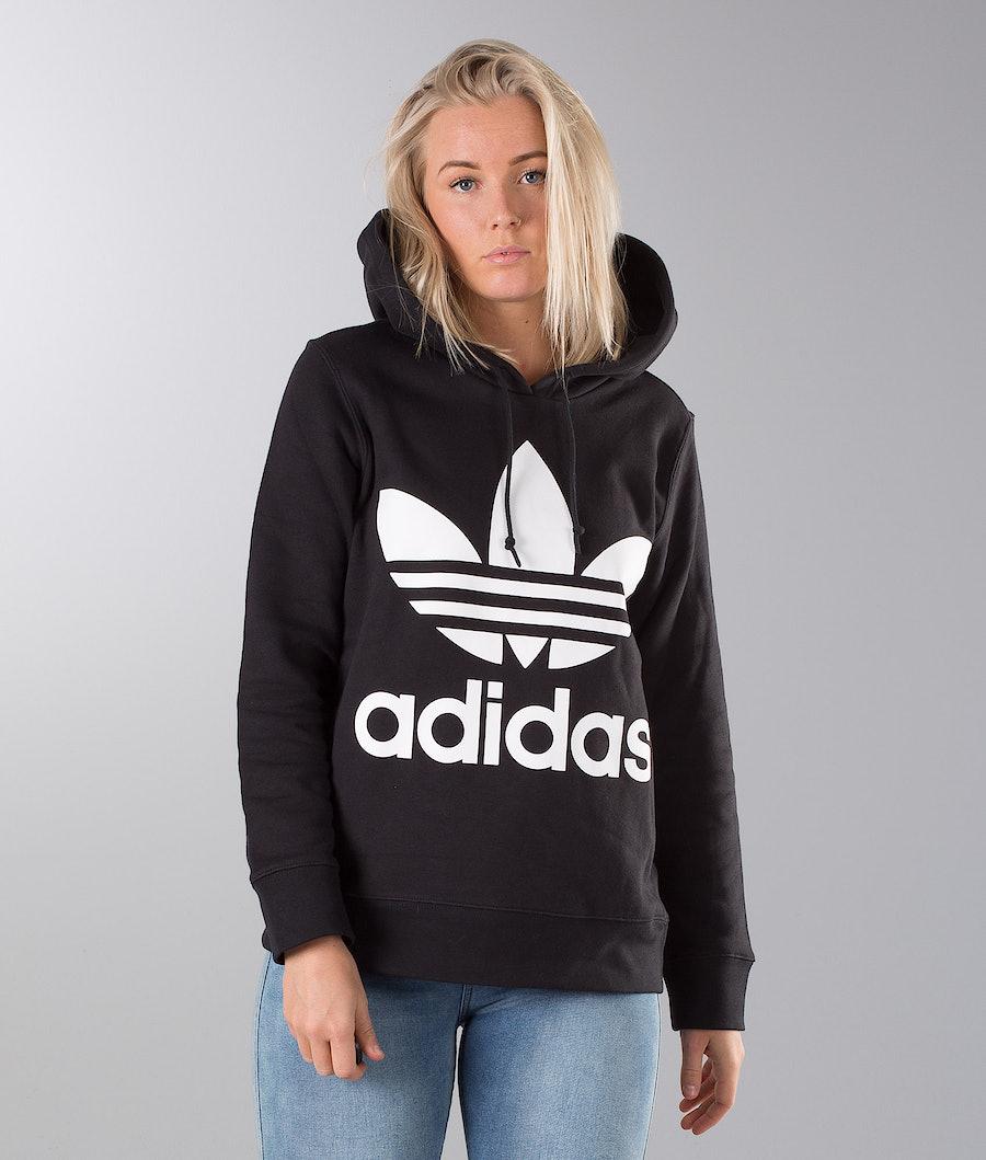 Adidas Originals Trefoil  Capuche Black