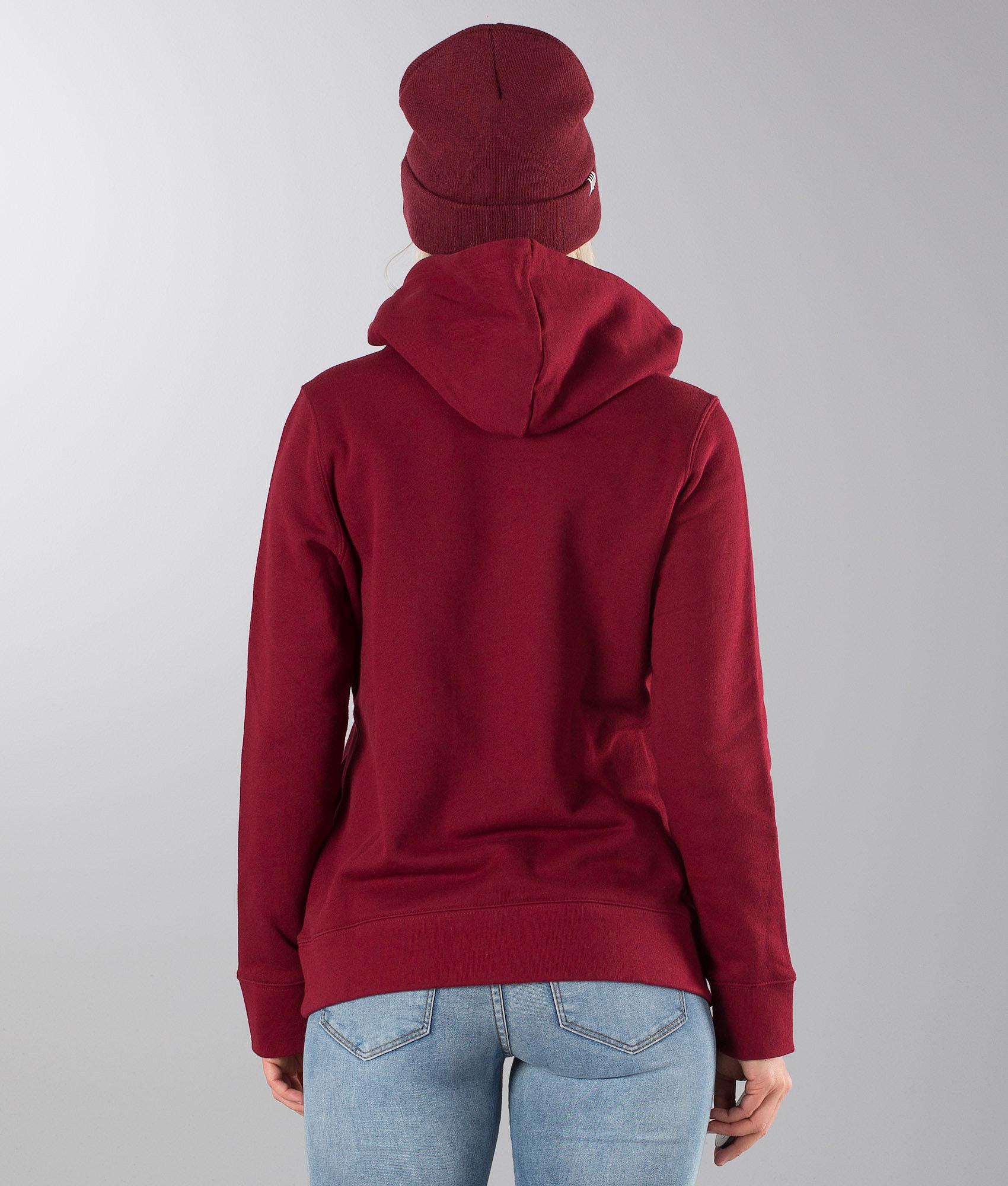 Adidas Originals Trefoil Hood Collegiate Burgundy - Ridestore.com 7b4e56c8f7