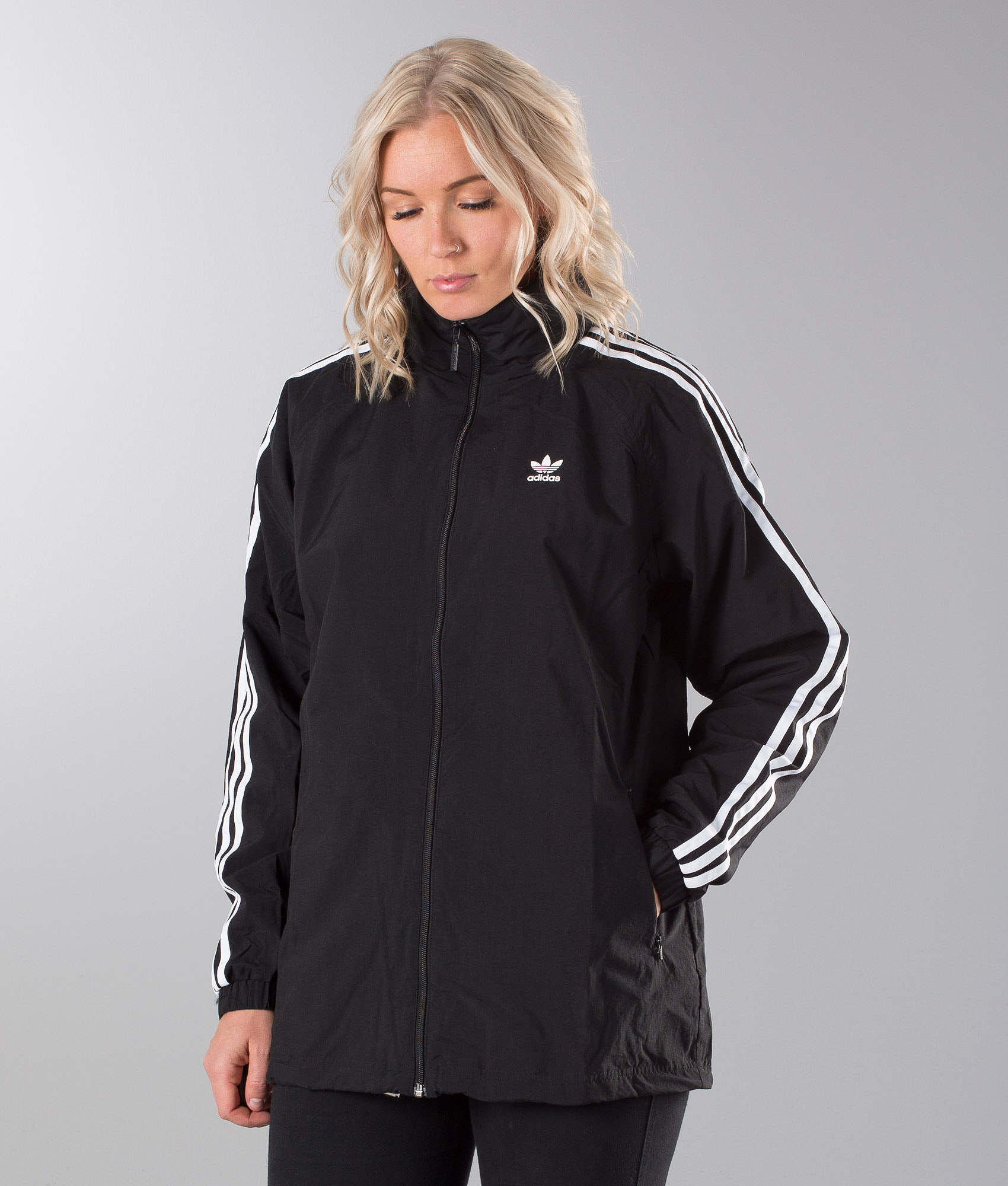 Adidas Originals Stadium Jacket Black - Ridestore.com ee612eb6e6