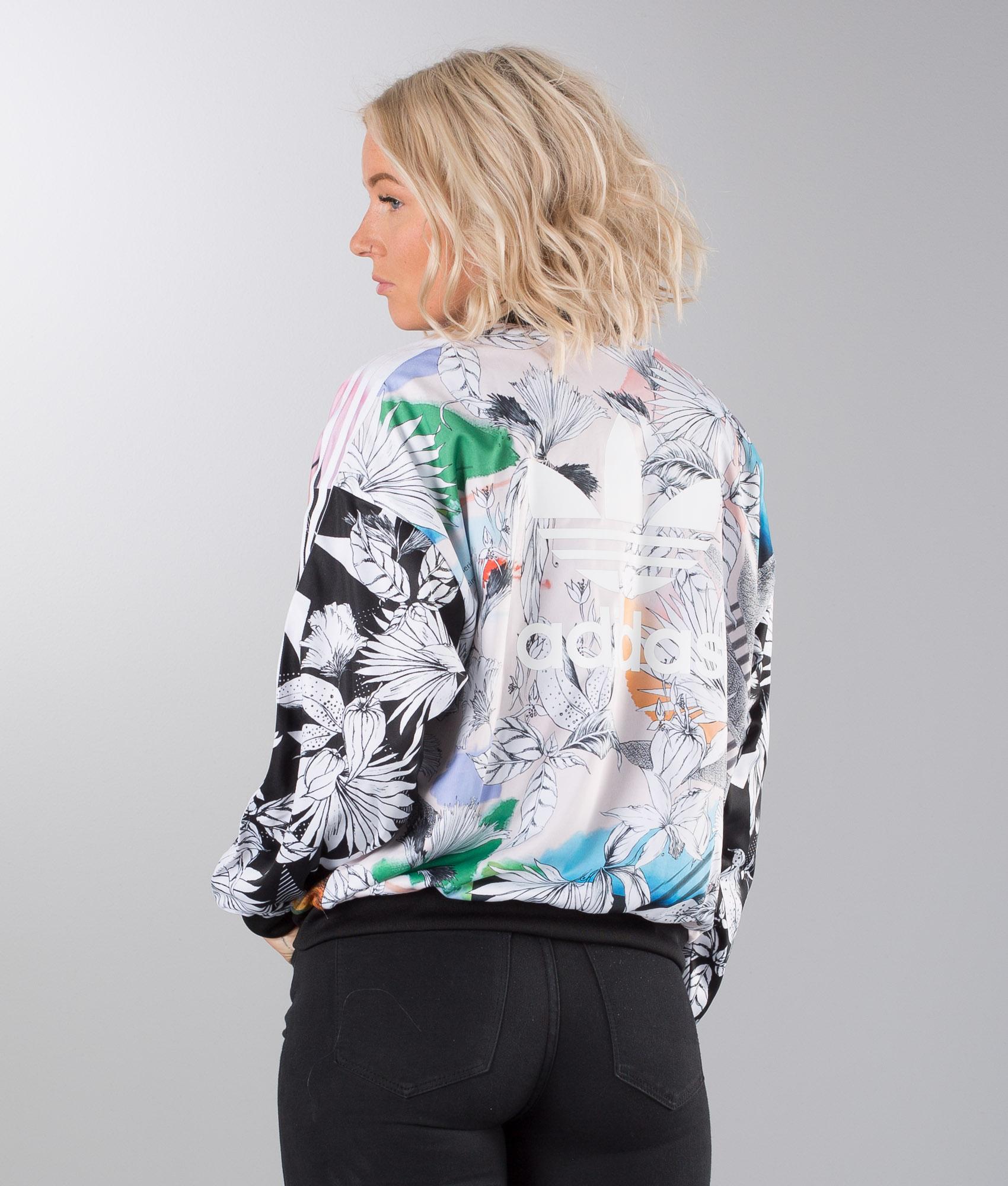 Adidas Originals Oversized TT Jacke Multicolor