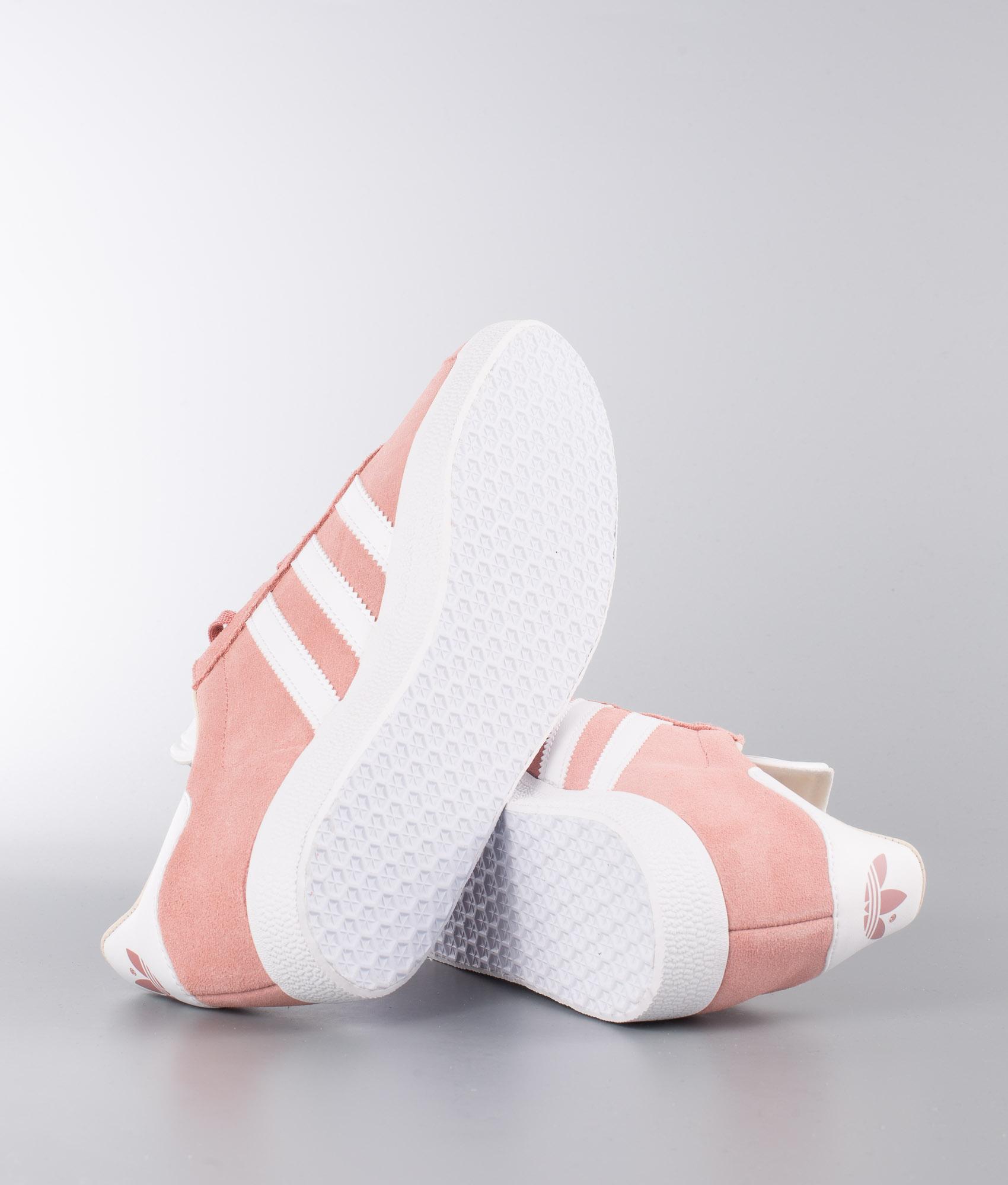 Adidas Originals Gazelle Schuhe Ash PinkFtwr WhiteLinen