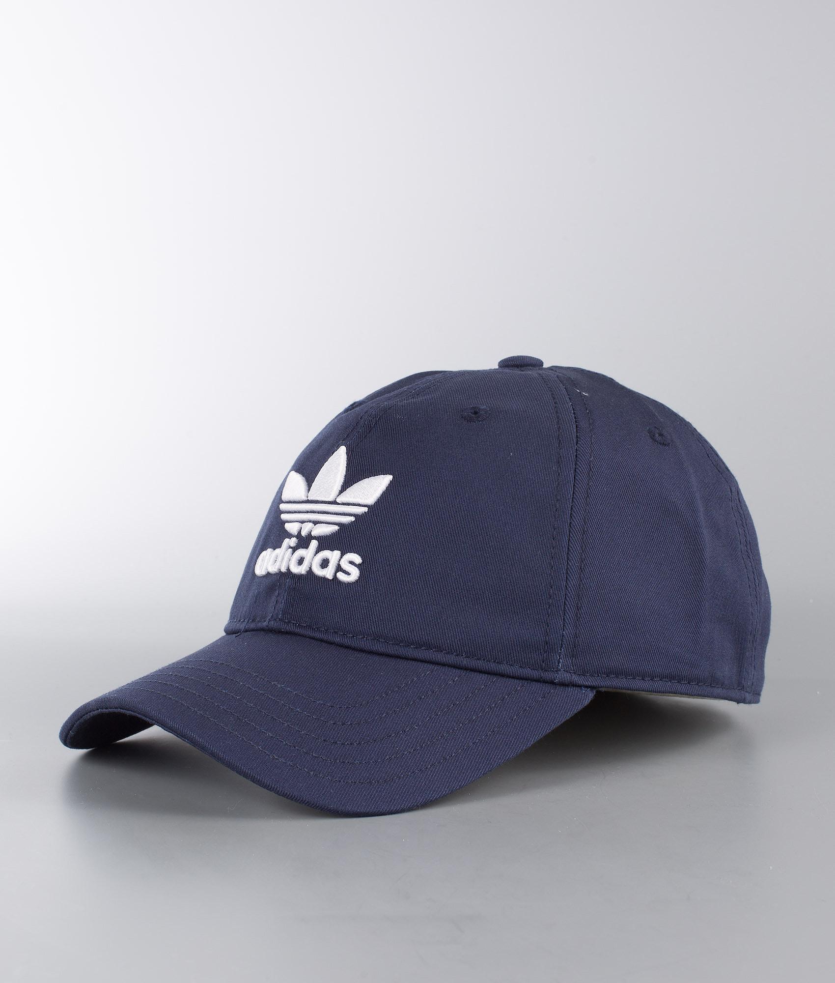 d2510db6a6f08 Adidas Originals Trefoil Cap Collegiate Navy White - Ridestore.com