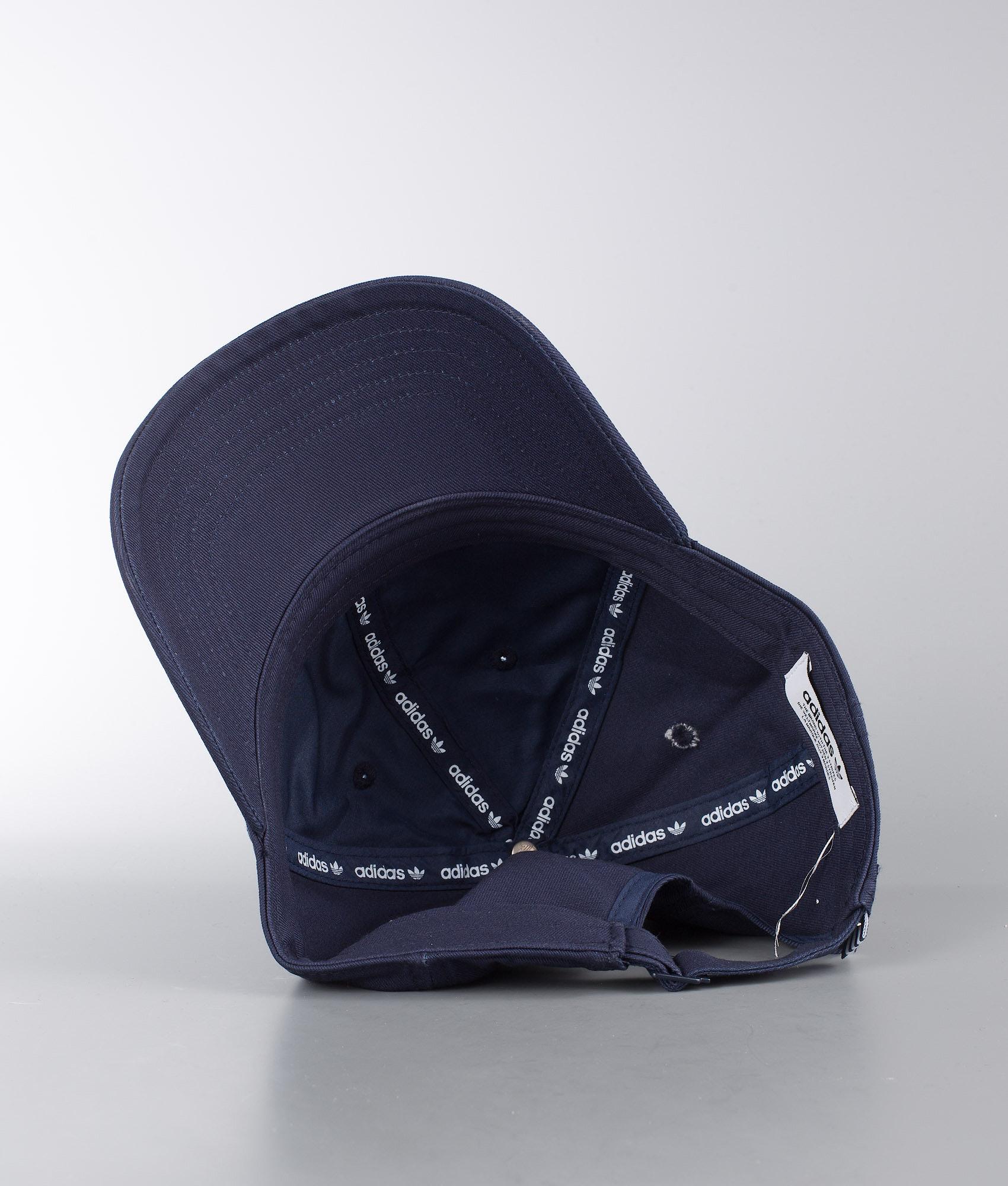 Adidas Originals Trefoil Lippis Collegiate Navy White - Ridestore.fi c9765e6b7a