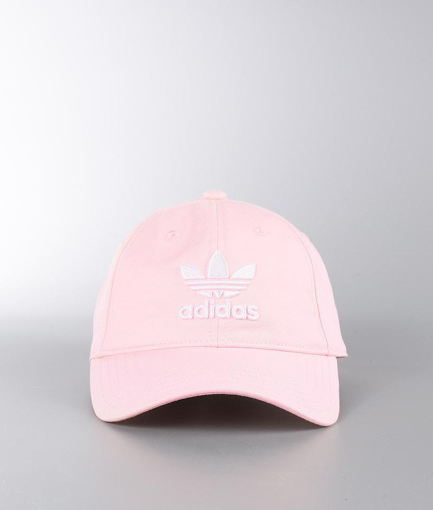 c7535f89848 Adidas Originals Trefoil Cap Blush Pink White - Ridestore.com