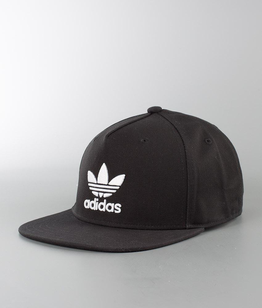 Adidas Originals Ac Cap Tre Flat Cap Black - Ridestore.com 718eb5922d1
