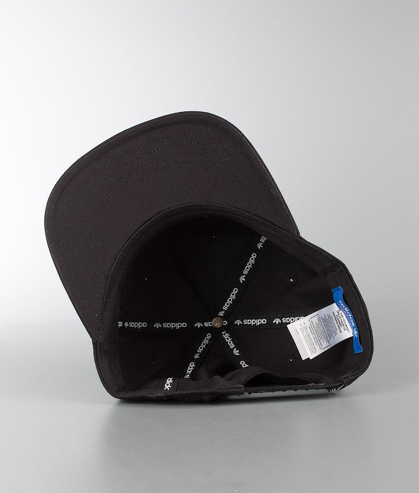 195f4f3bc4a Adidas Originals Ac Cap Tre Flat Cap Black - Ridestore.com